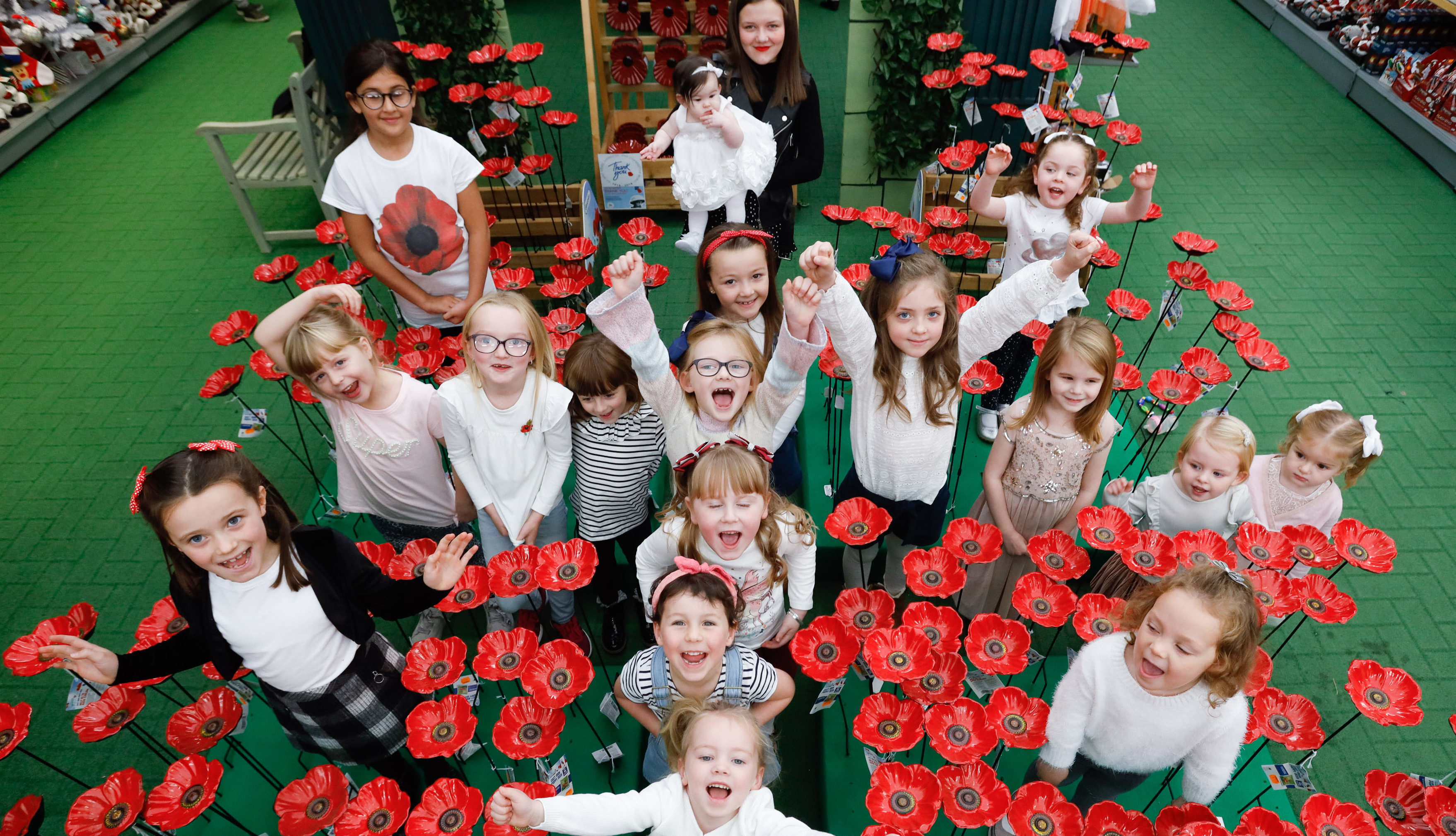 A group of girls named Poppy are helping raise money (Mark F Gibson / Gibson Digital)