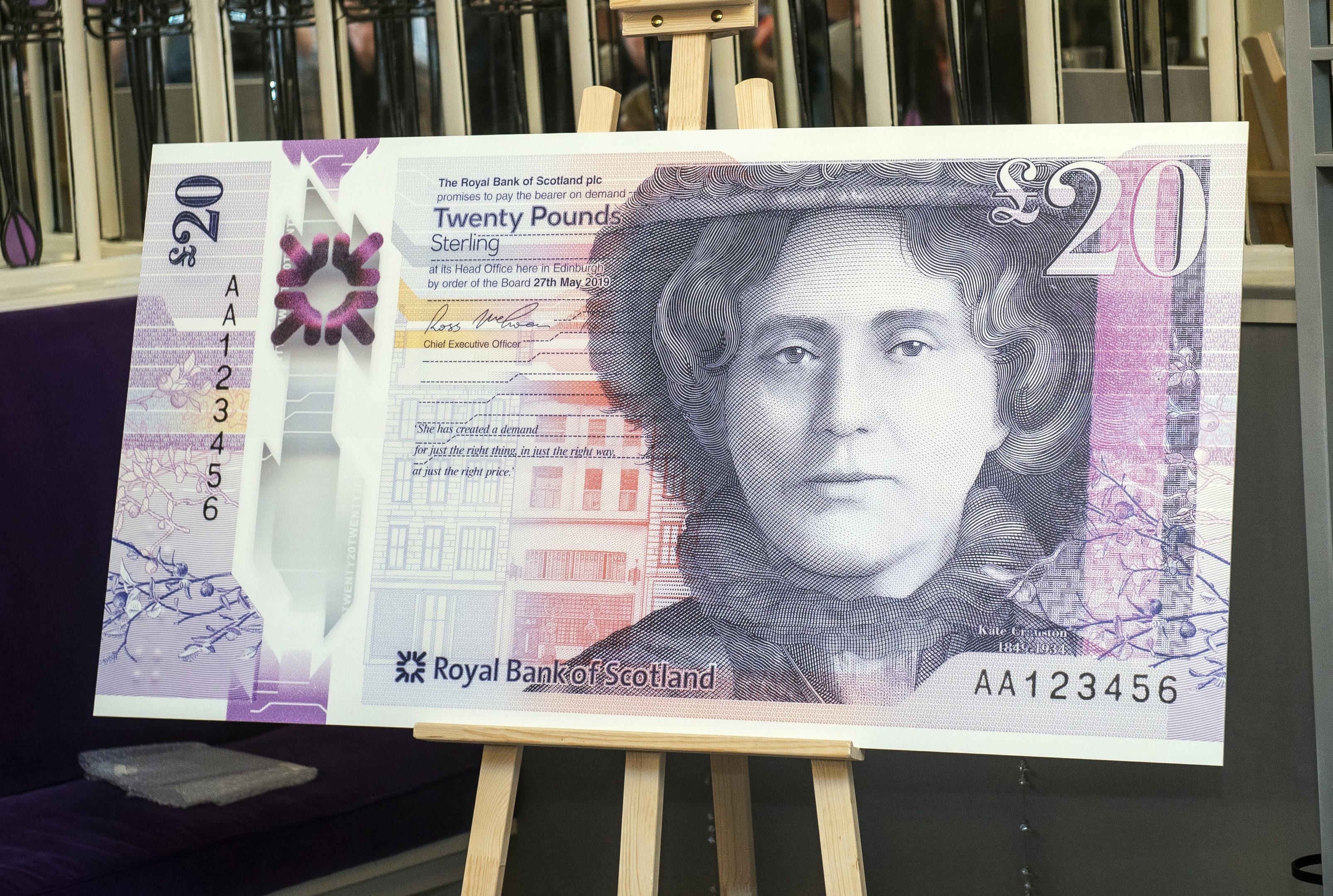 The new RBS £20 note (Lenny Warren / Warren Media)