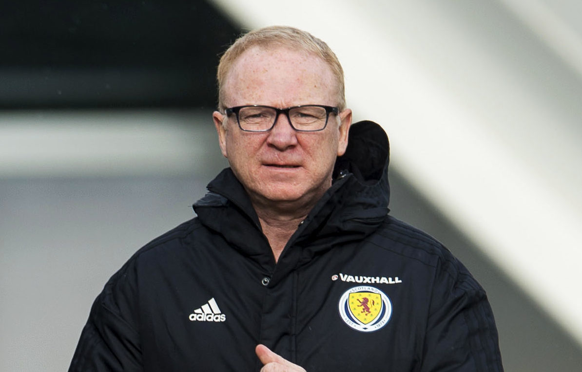Scotland manager Alex McLeish (SNS Group / Ross MacDonald)