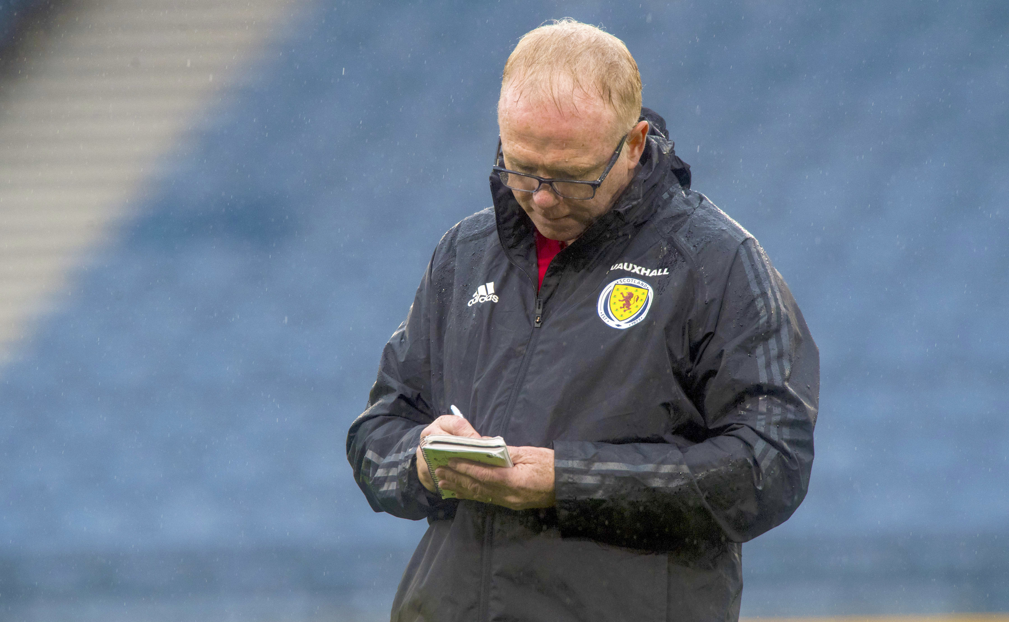 Scotland head coach Alex McLeish is making changes (SNS Group)