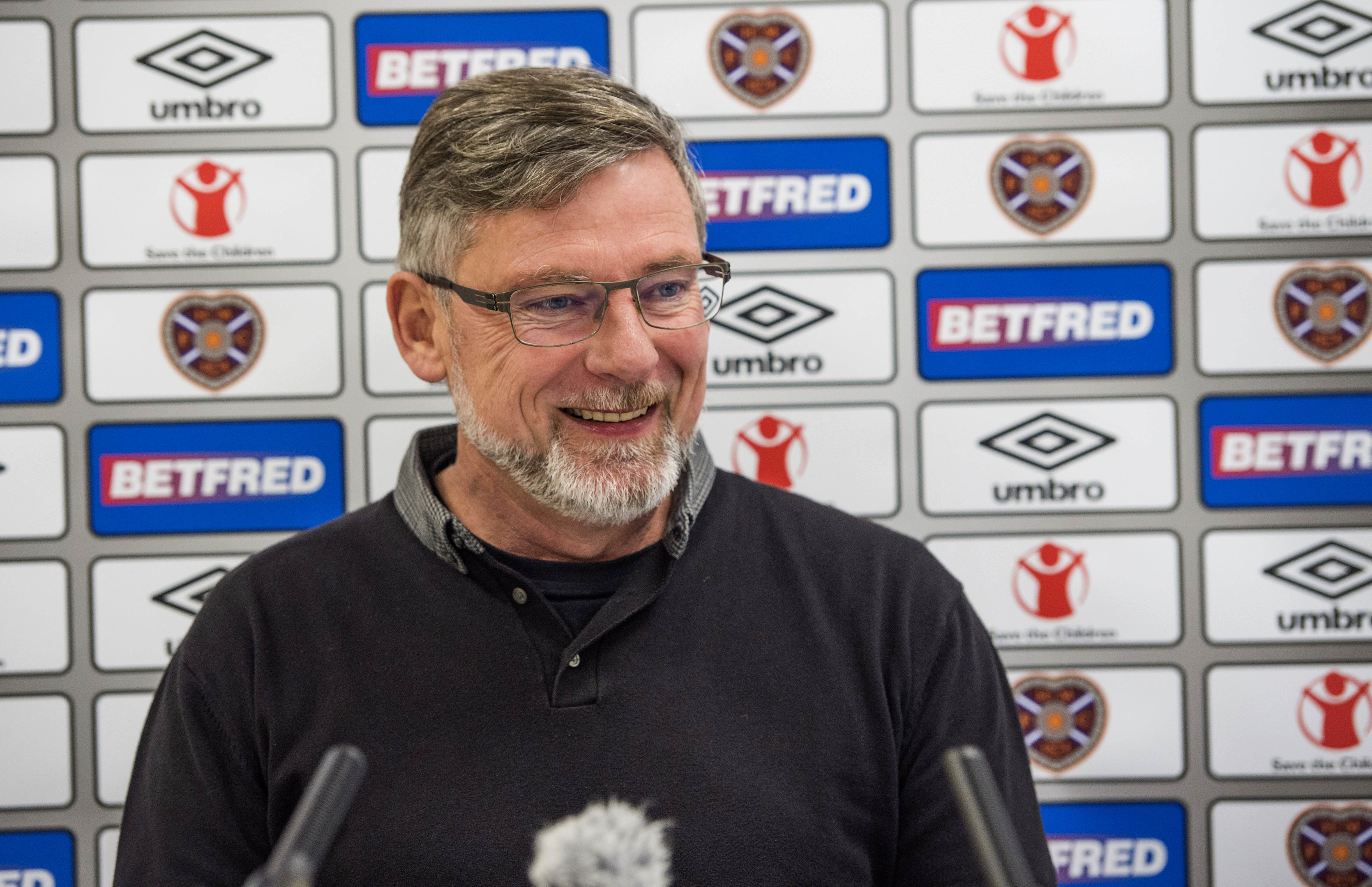 Hearts manager Craig Levein (SNS Group / Gary Hutchison)
