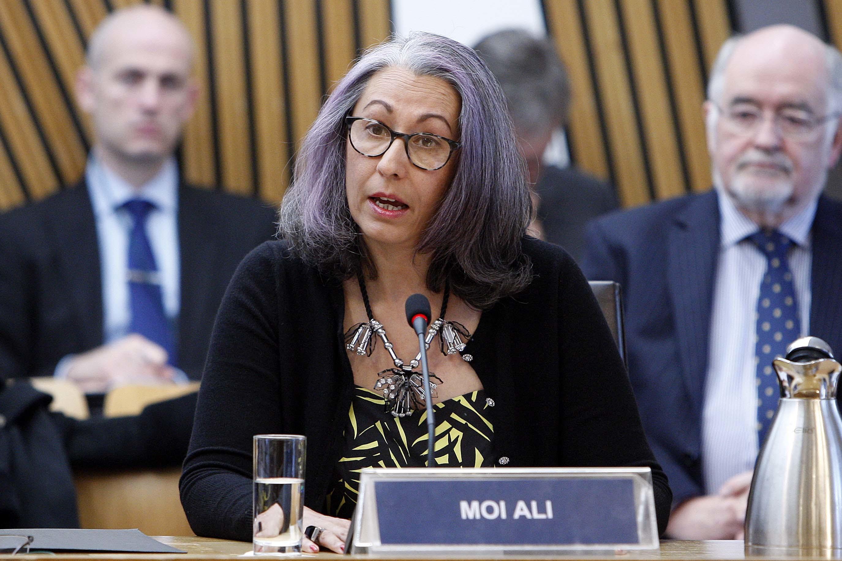 Moi Ali, former SPA board member (Andrew Cowan/Scottish Parliament)