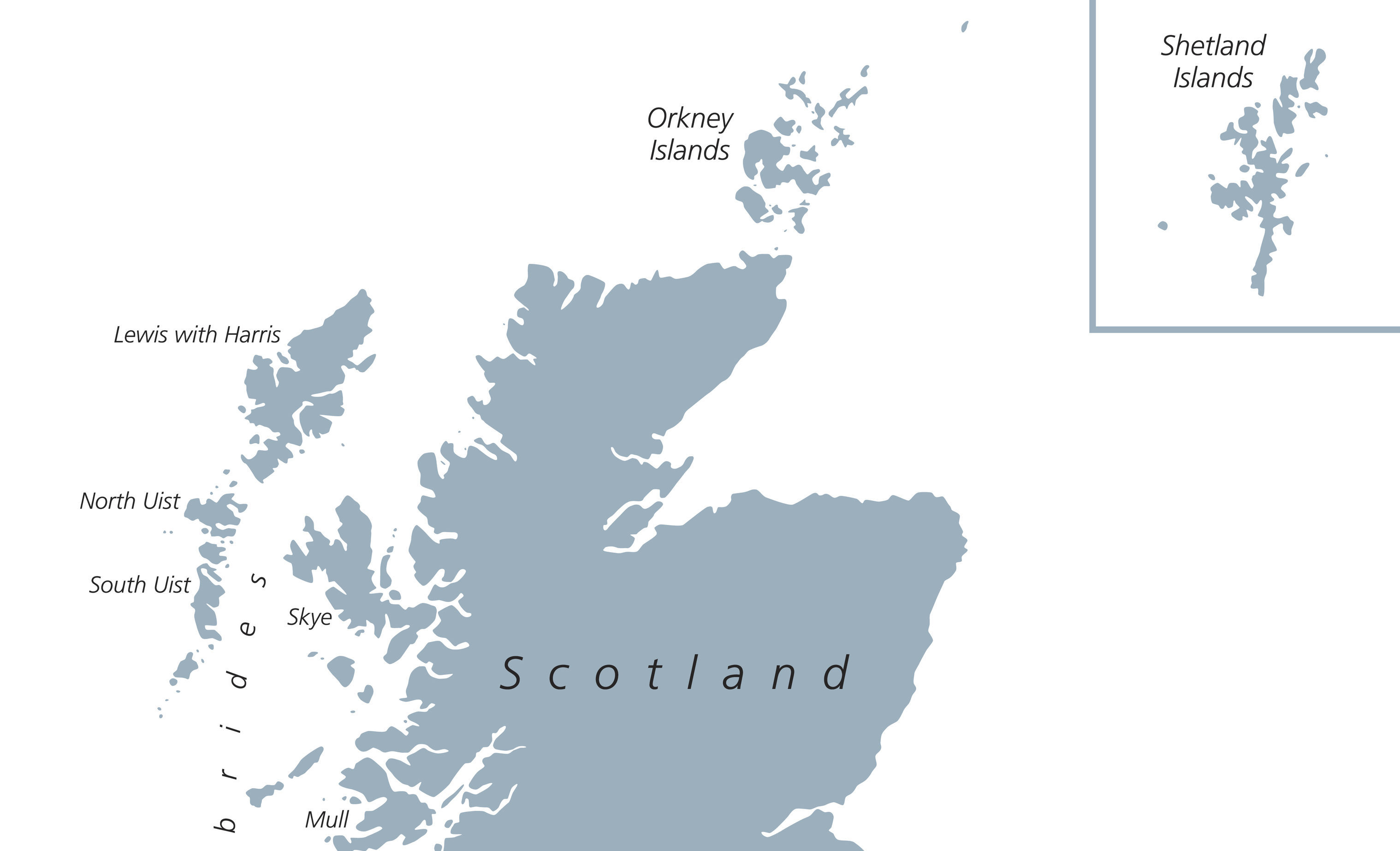 Up until now, Shetland was often seen hanging around the coasts of Moray or Fraserburgh which has been labelled geographically misleading. (Getty)