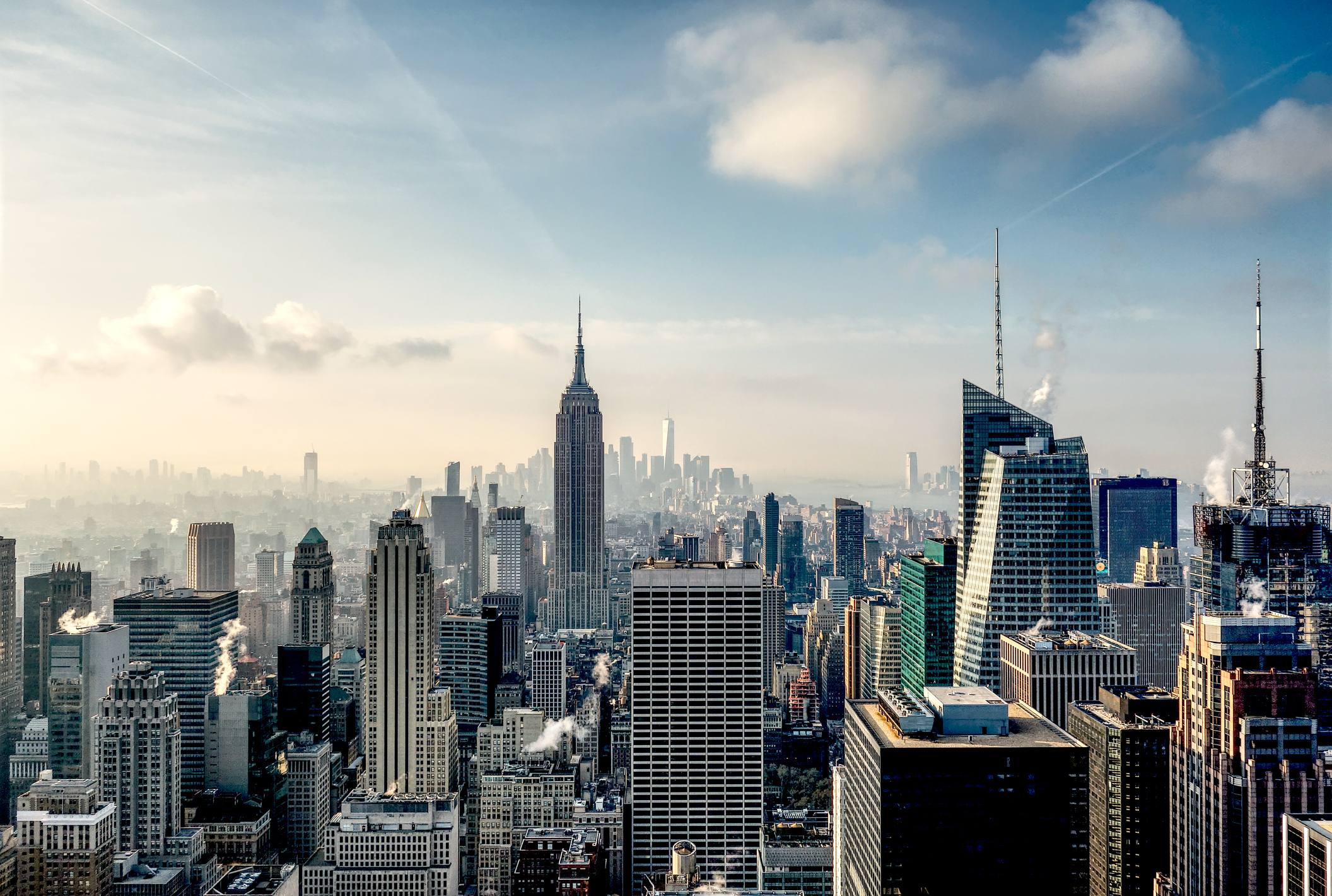 Skyline Of New York from the Top of the Rock (Getty Images)