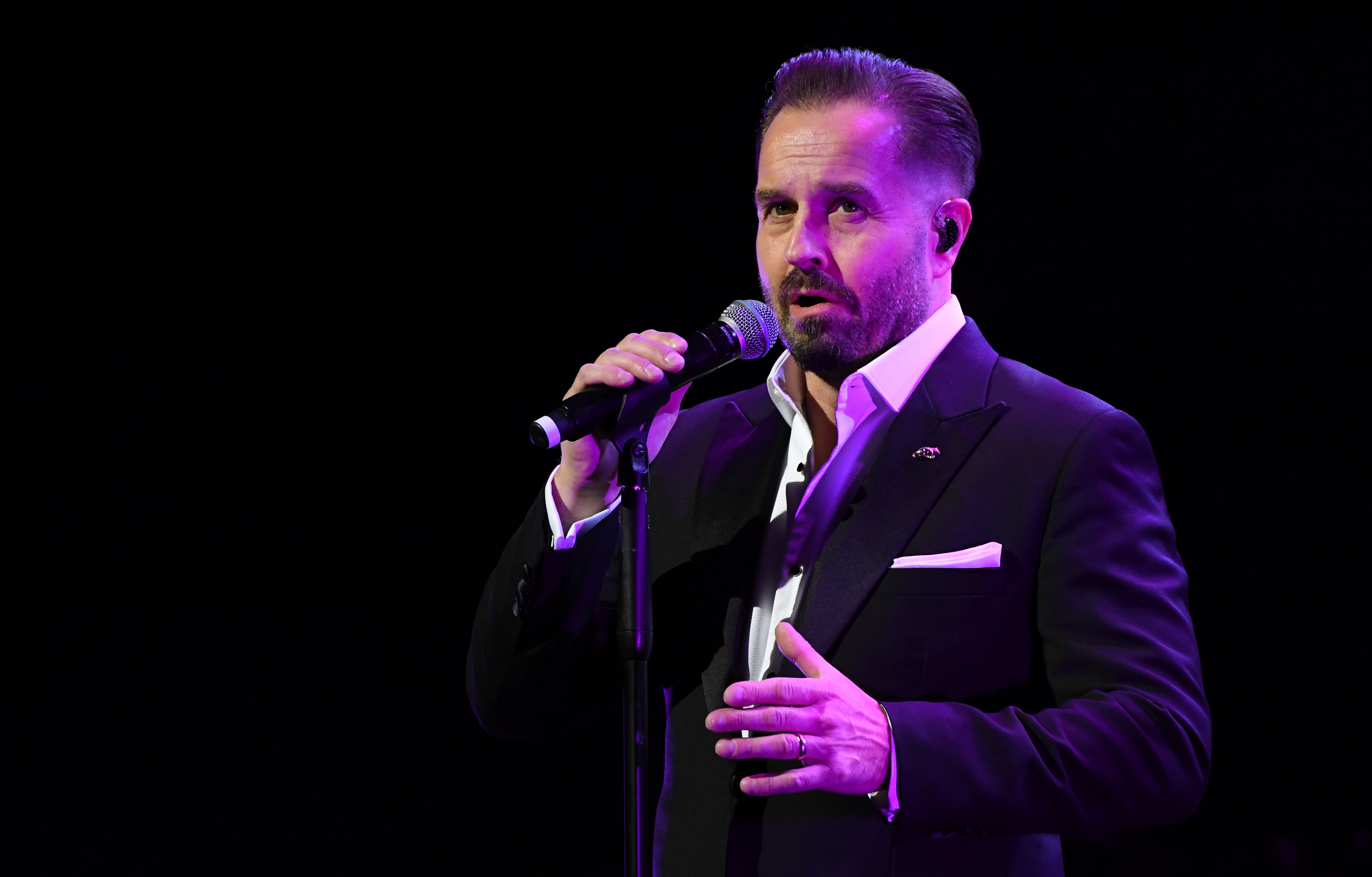 Alfie Boe (Stuart C. Wilson/Getty Images)