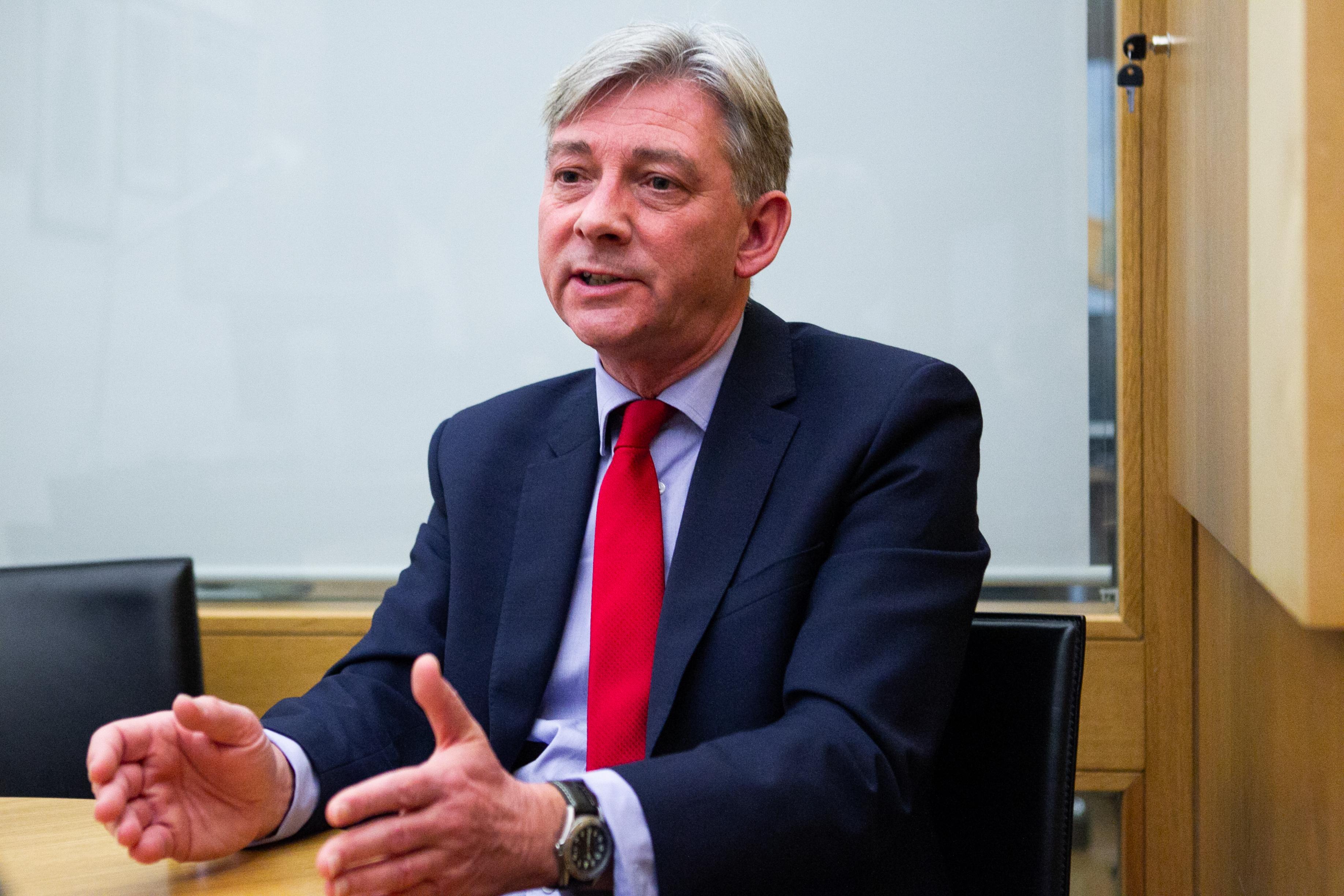 Scottish Labour leader Richard Leonard (Andrew Cawley / DC Thomson)