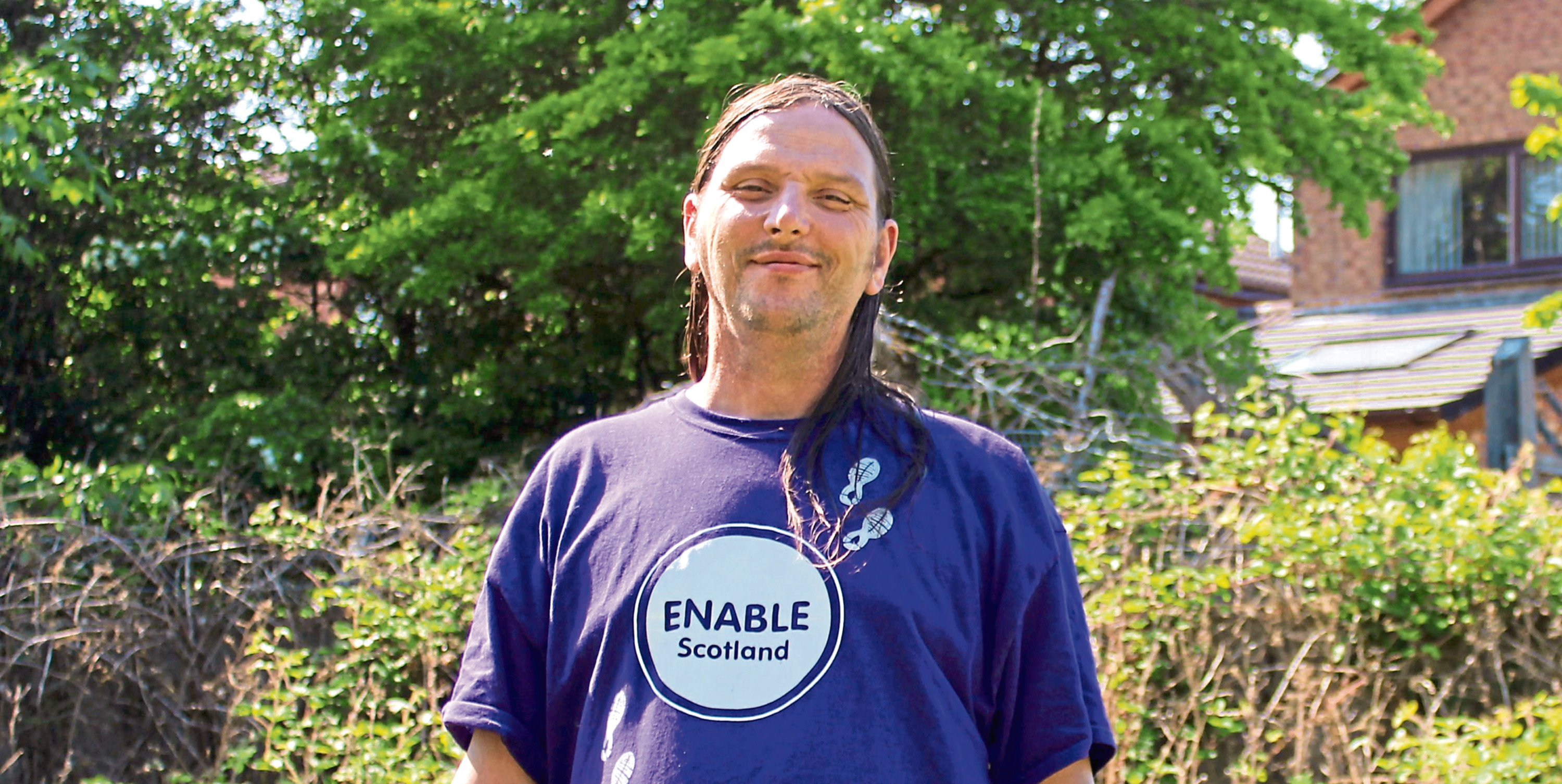 John Feehan has a learning disability and suffered a lot of anxiety after being diagnosed with Hodgkin's lymphoma