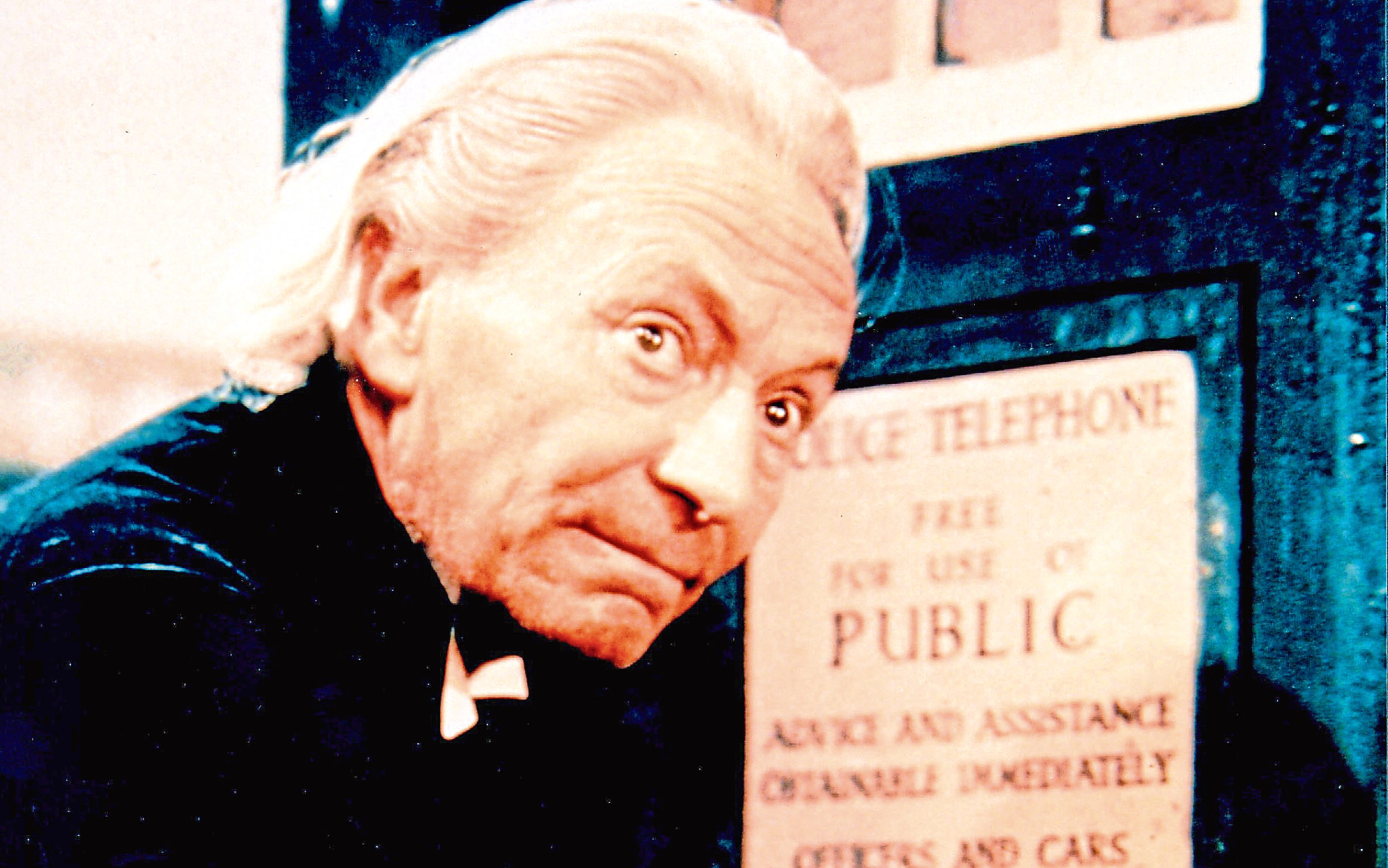 William Hartnell as the First Doctor (Allstar/BBC)