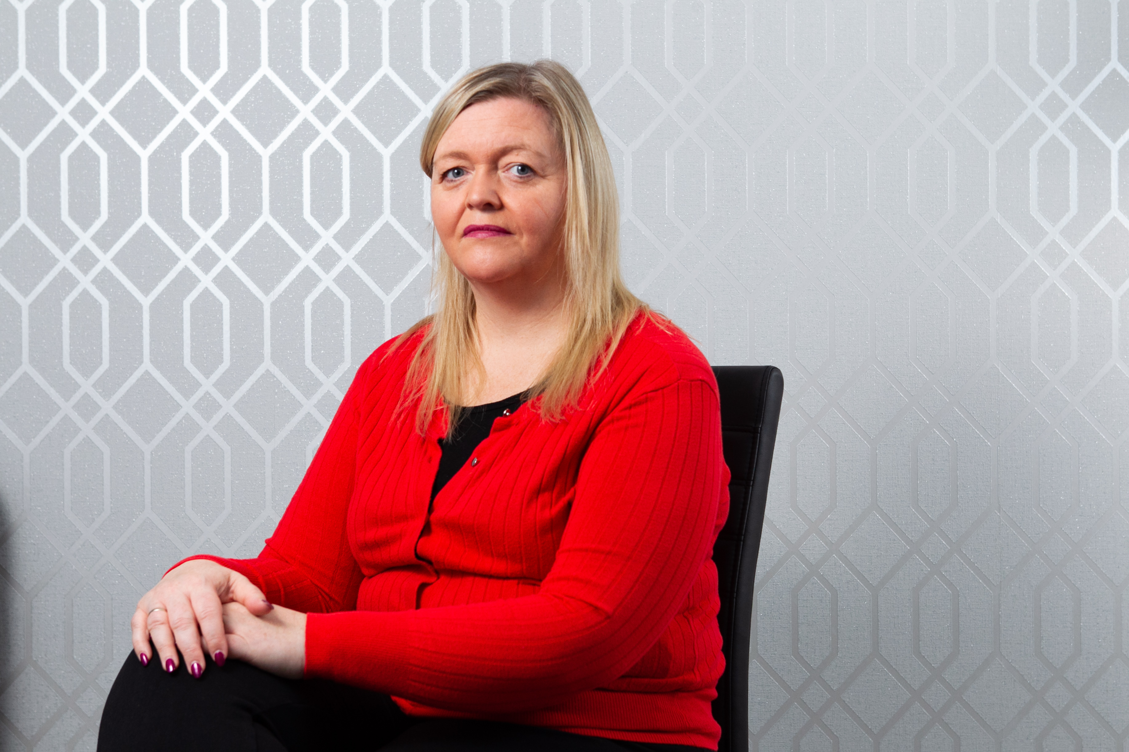 Anne Henry suffers from lipoedema (Andrew Cawley / DC Thomson)