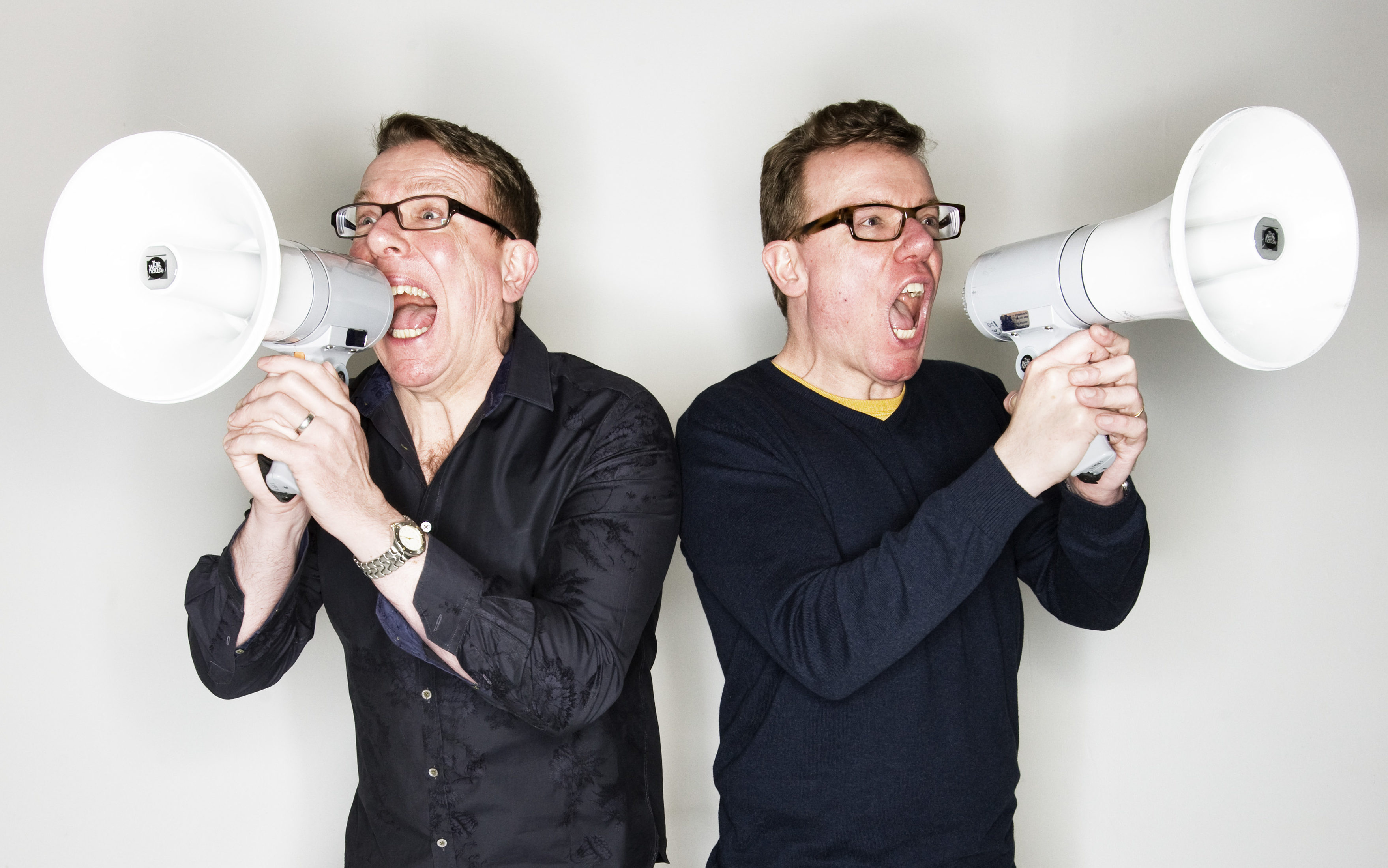 The Proclaimers, with Charlie on the left (Murdo MacLeod)