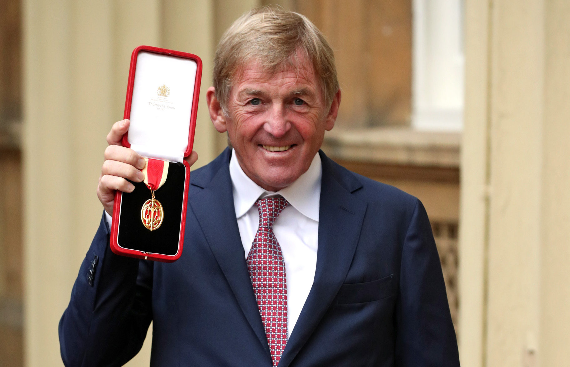 Liverpool legend Sir Kenny Dalglish after being knighted (Jonathan Brady/PA Wire)