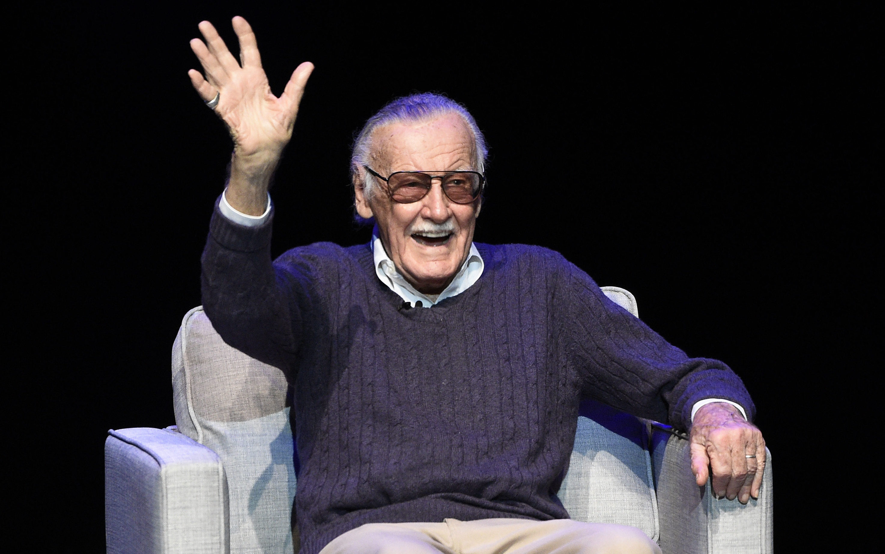 Stan Lee (Chris Pizzello/Invision/AP, File)