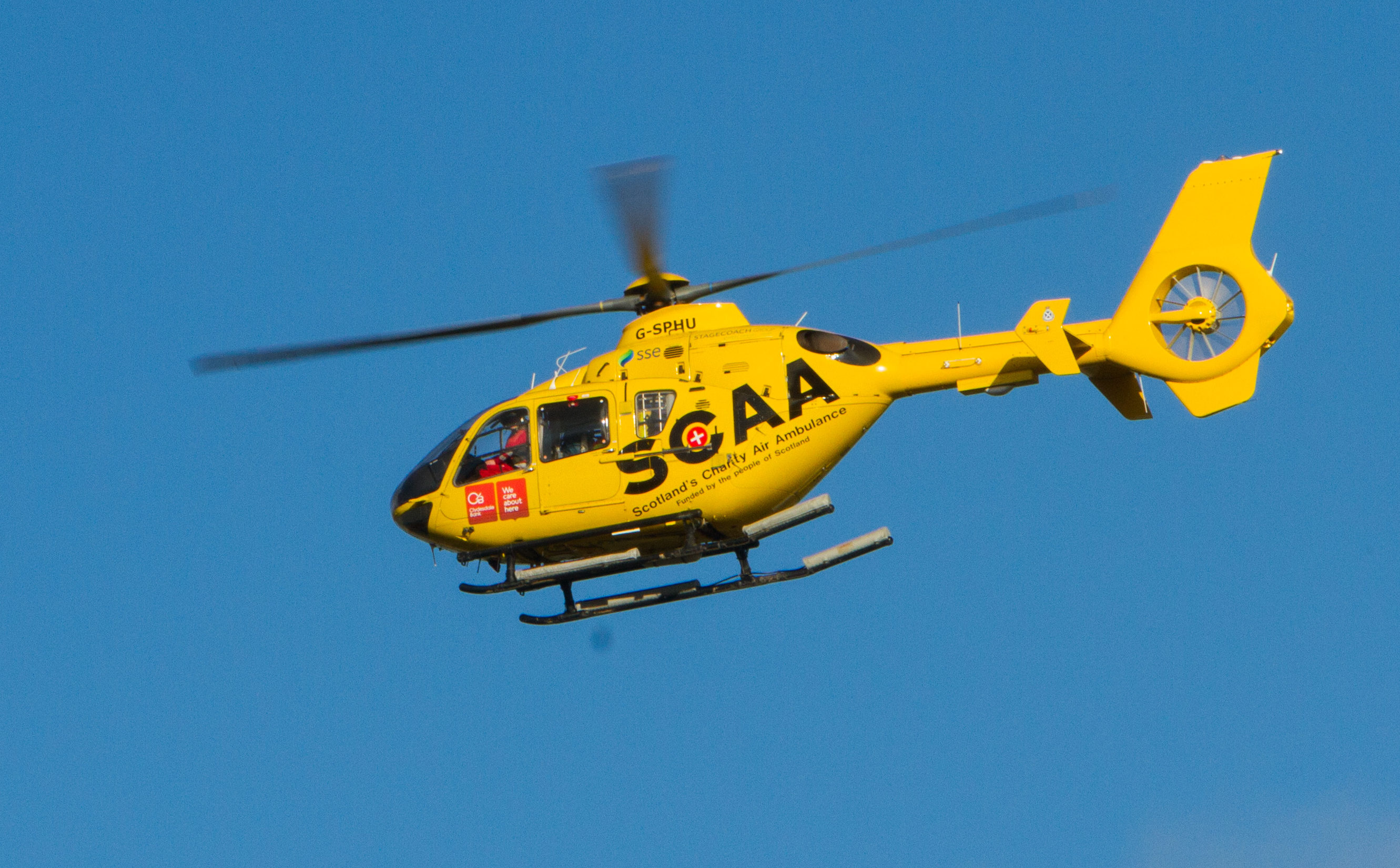Scotland's Charity Air Ambulance (Steve MacDougall / DC Thomson)