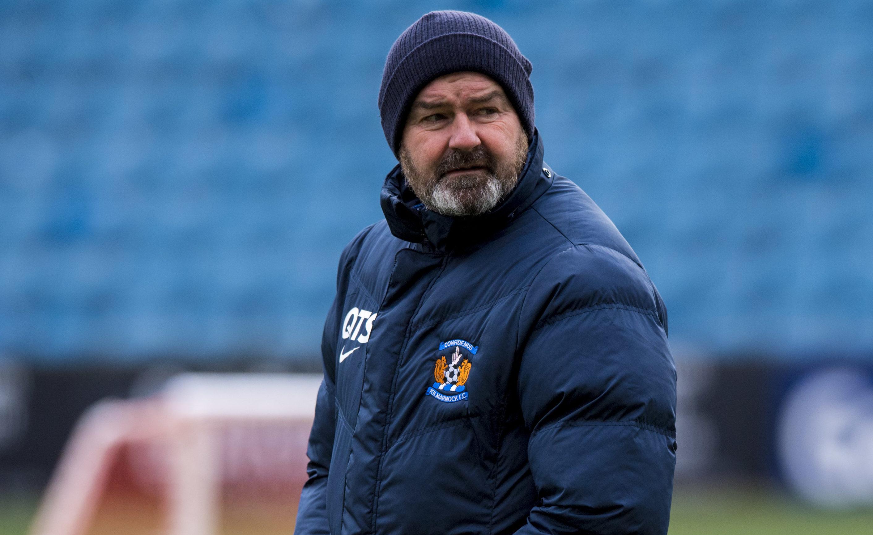 Kilmarnock manager Steve Clarke (SNS Group)