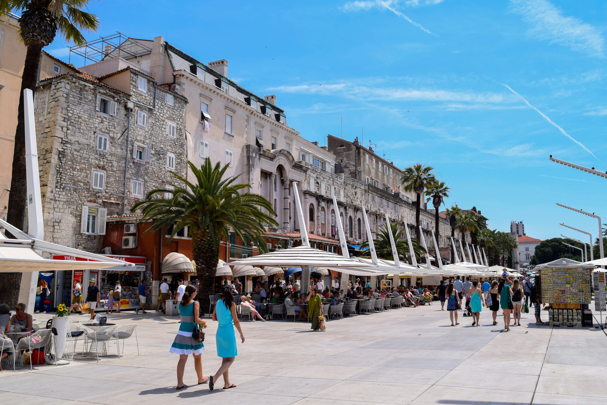 The Riva promenade (Getty Images)