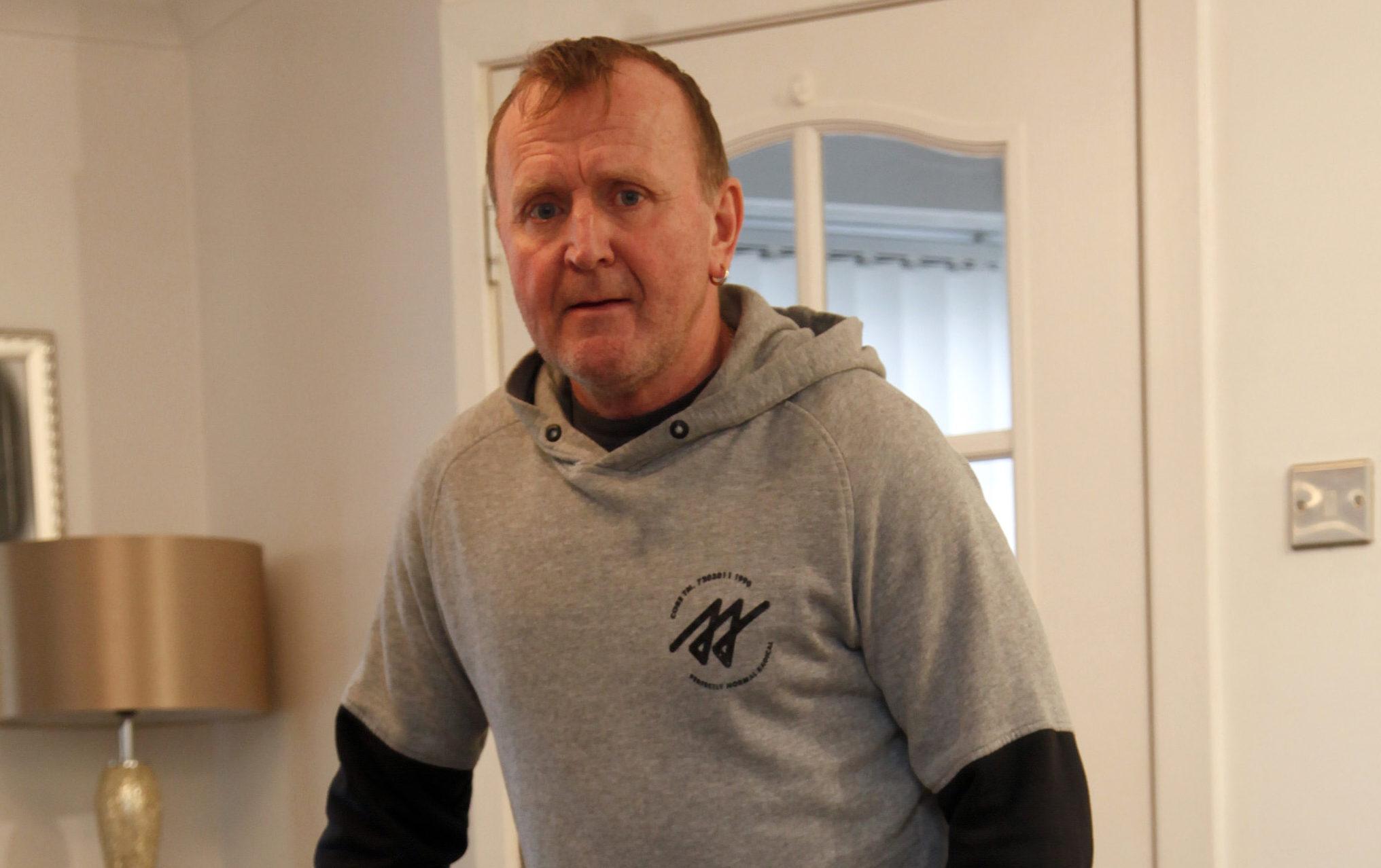 Former navy officer David Foulkes