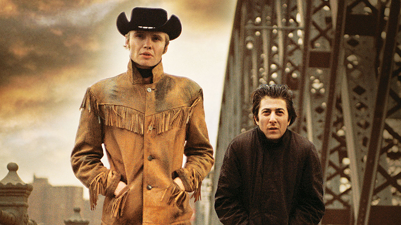 Midnight Cowboy starring Dustin Hoffman and  Joe Voight.