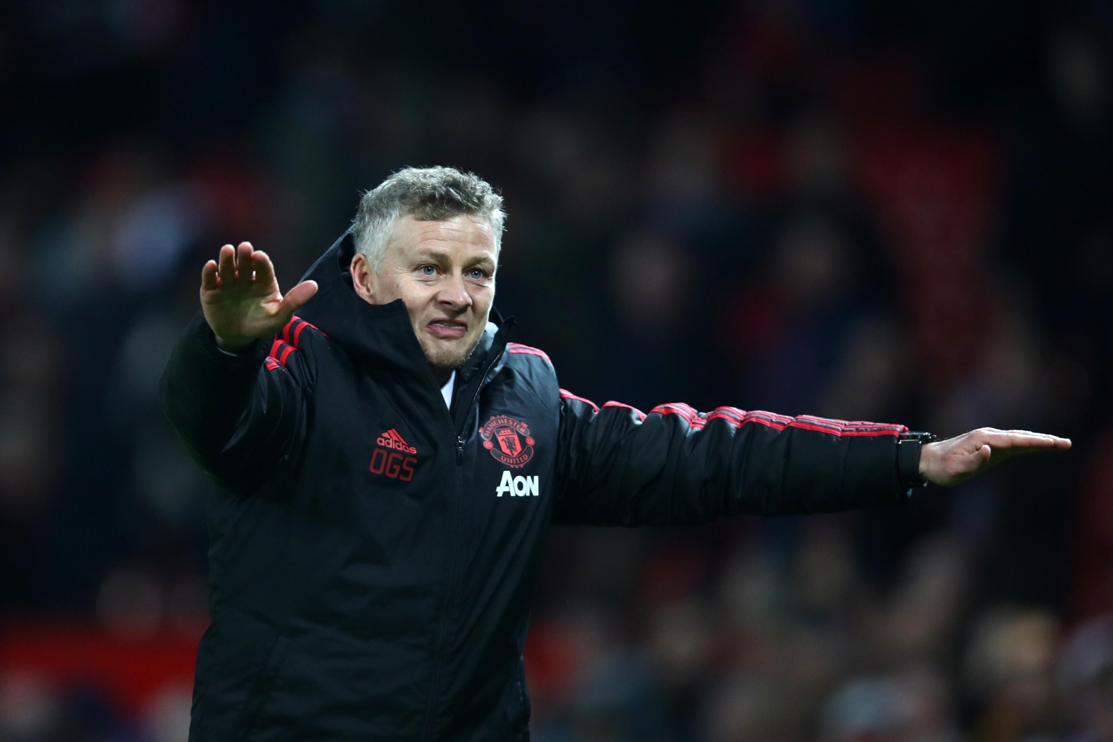Ole Gunnar Solskjaer, Interim Manager of Manchester United (Clive Brunskill/Getty Images)