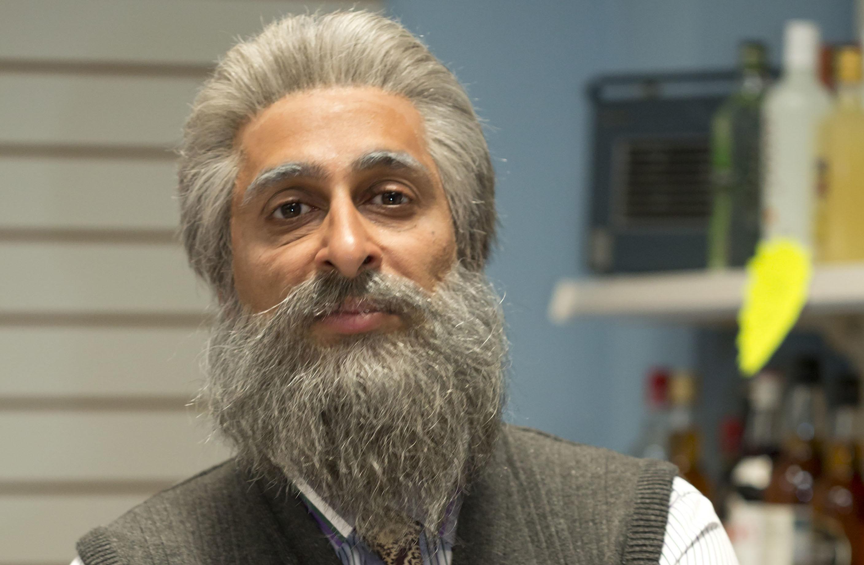 Sanjeev Kohli as Meena's husband Navid (BBC)