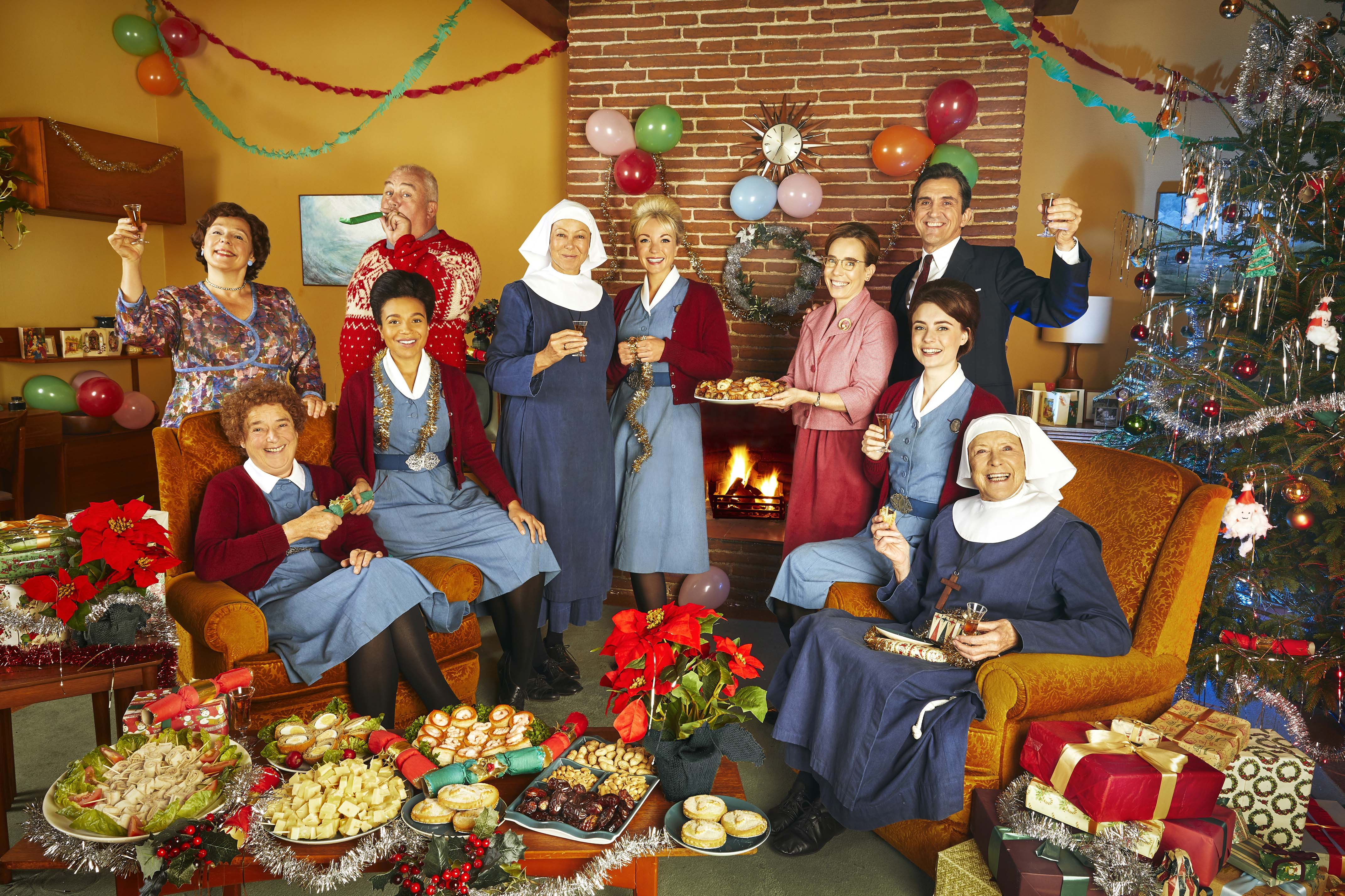 The cast of Call The Midwife (Neal Street / Nicky Johnston)