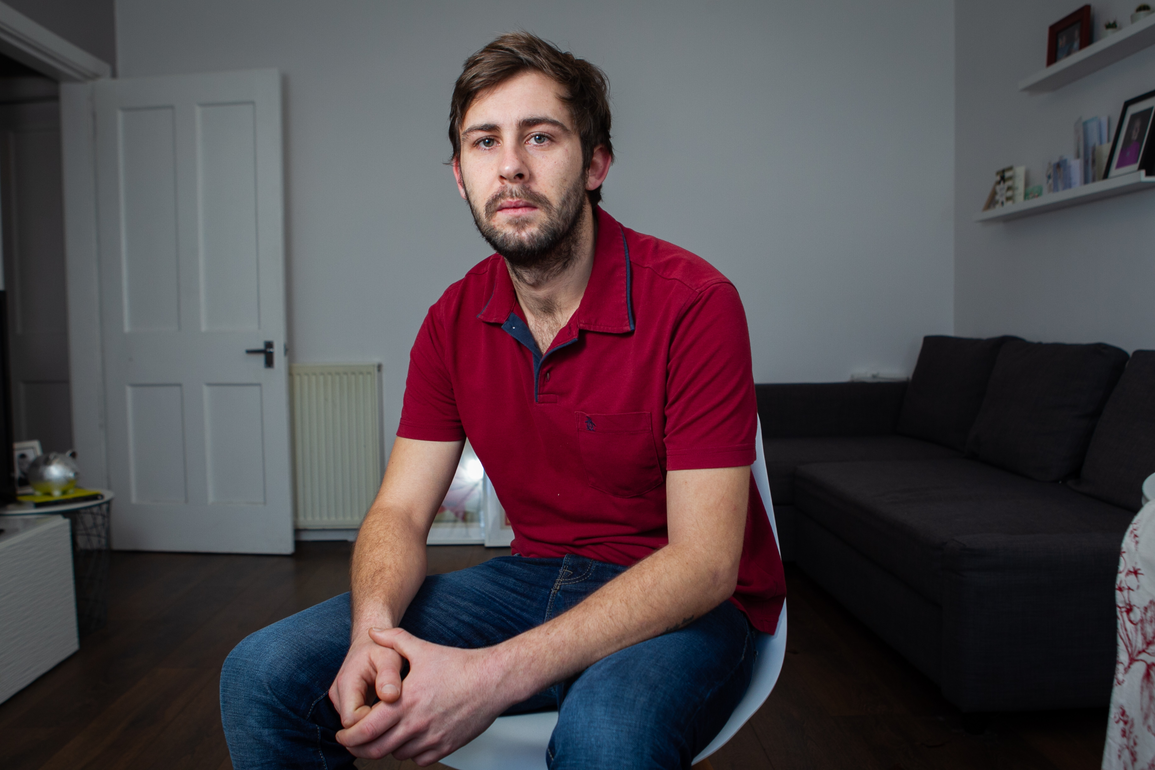 James Austin has turned to cannabis after his cancer diagnosis two years ago (Andrew Cawley / DC Thomson)