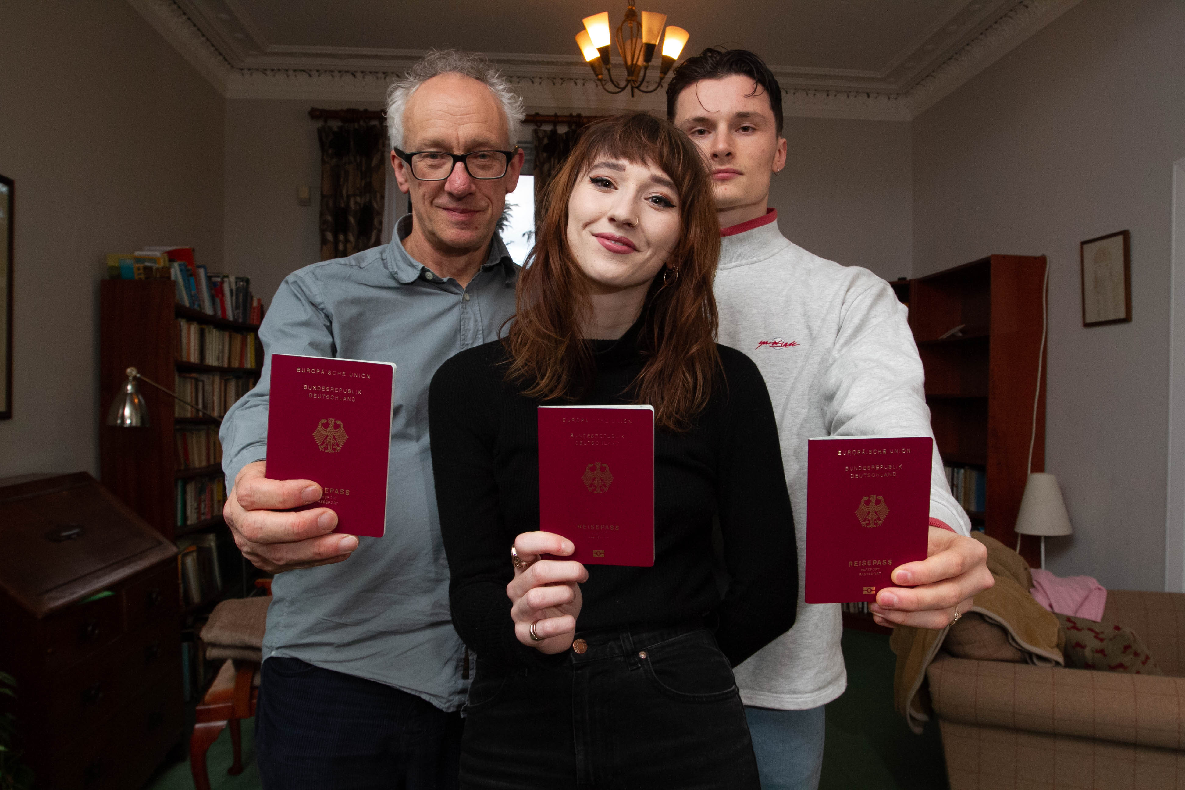 Bob Leiser's family have got German Passports ahead of Brexit