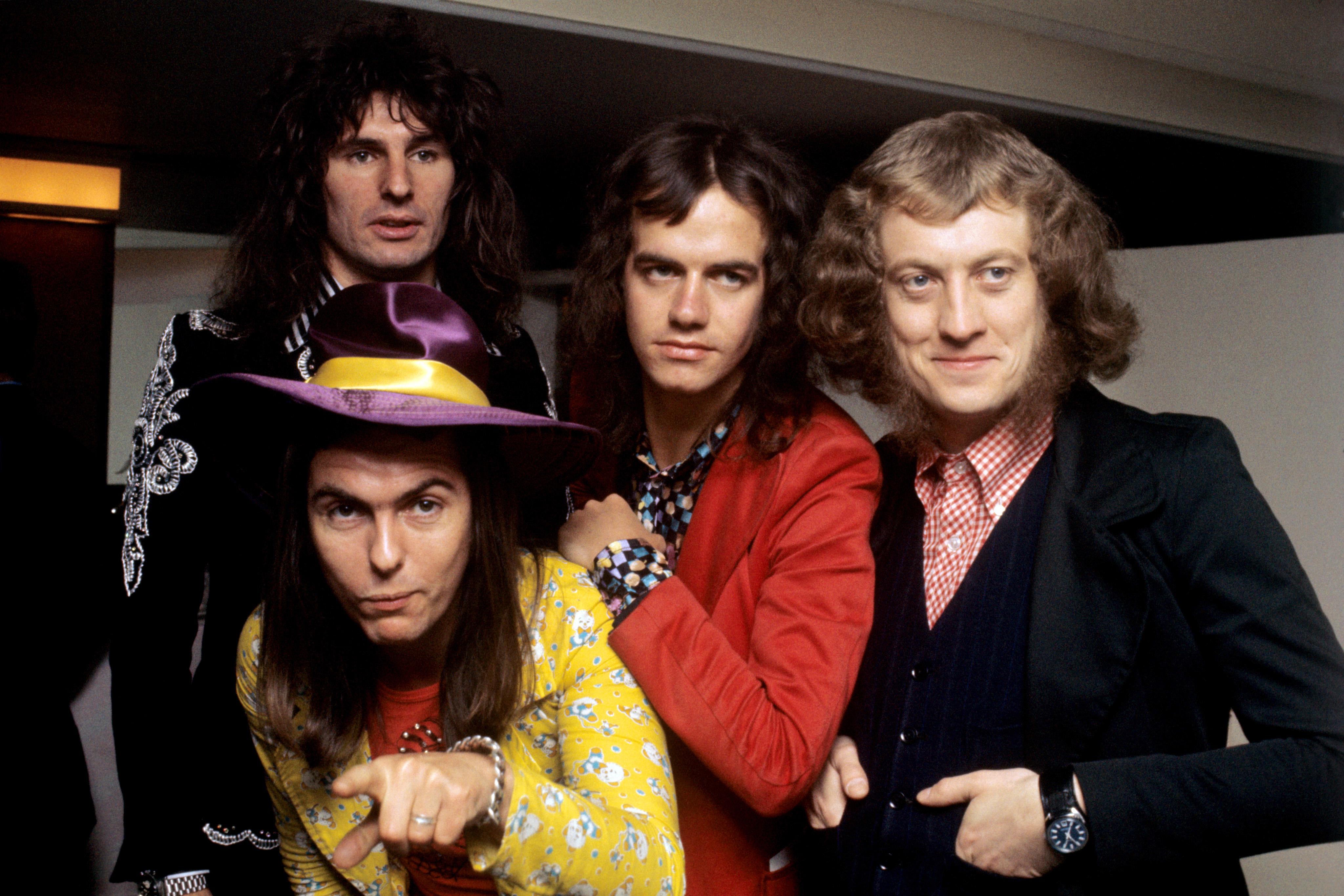 Slade in 1973 (PA Archive)