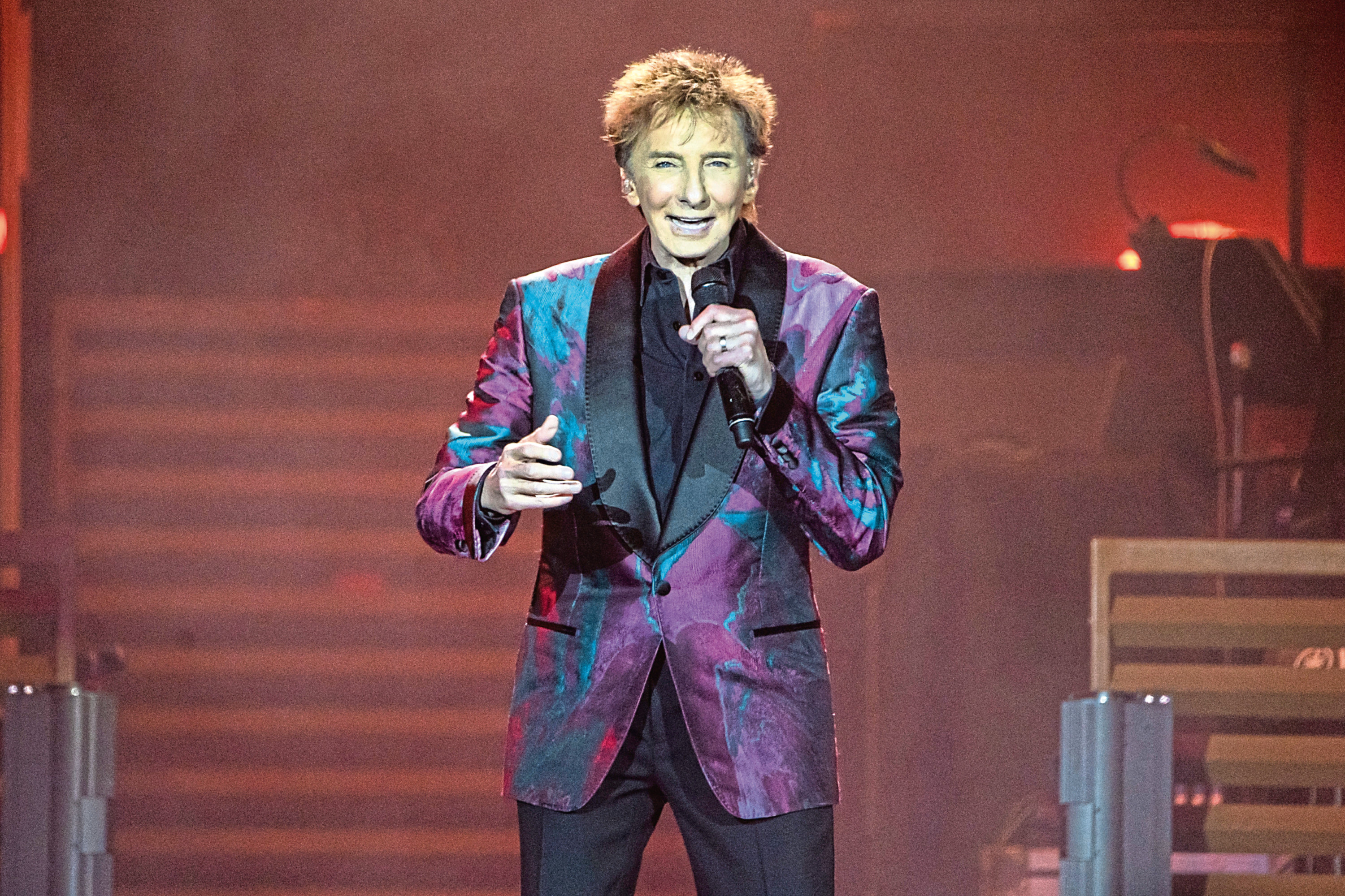 Barry Manilow performing earlier this year (Lorne Thomson/Redferns)