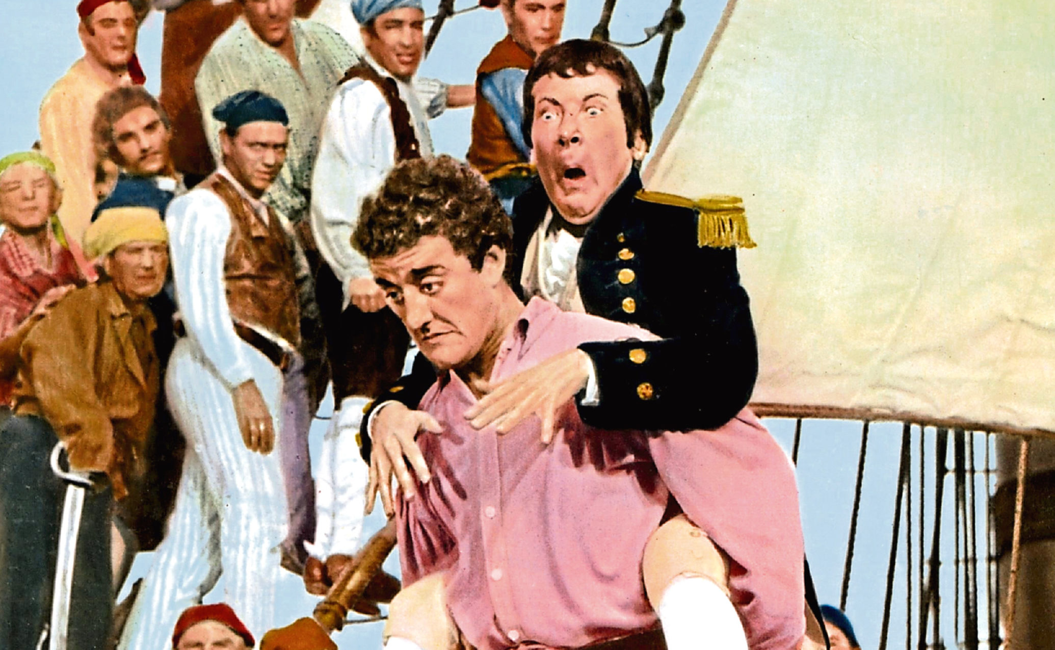 Bernard Cribbins and Kenneth Williams in Carry On Jack, 1963 (Allstar / ANGLO / STUDIOCANAL)
