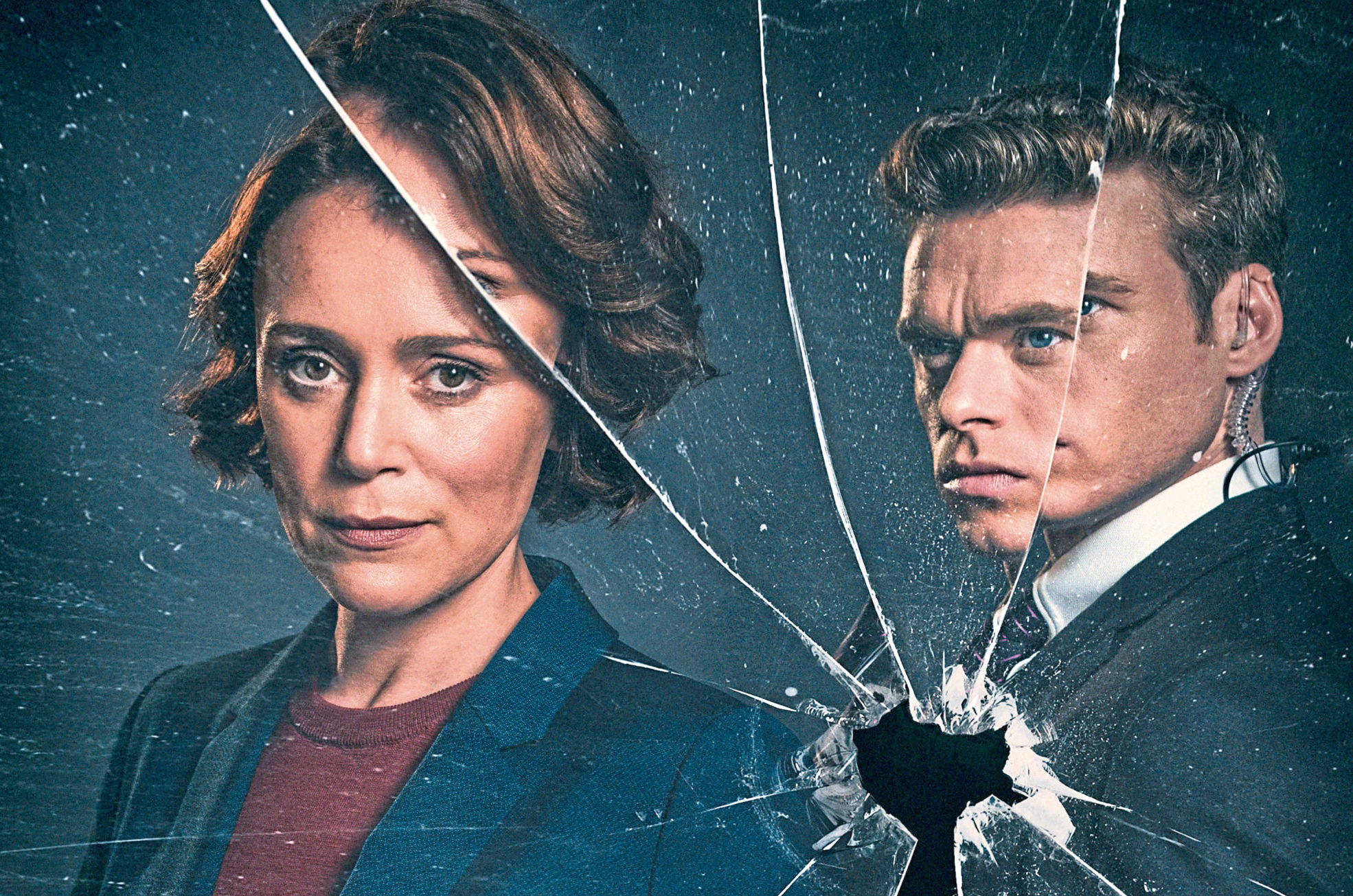 Keeley Hawes and Richard Madden starred in Bodyguard (Sophie Mutevelian / Drama Republic)