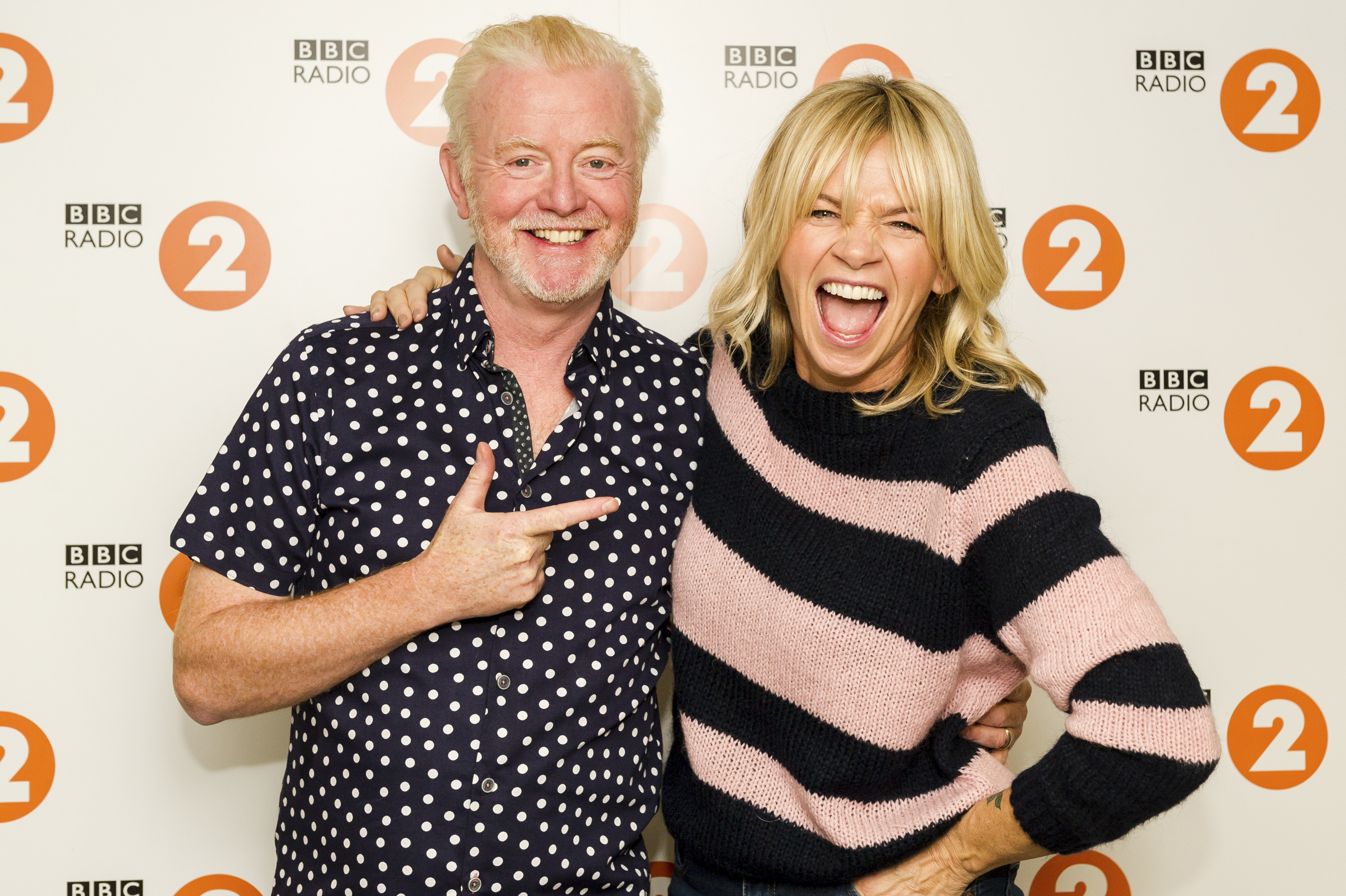 Zoe Ball takes over the Radio 2 breakfast show from Chris Evans in the new year (BBC)