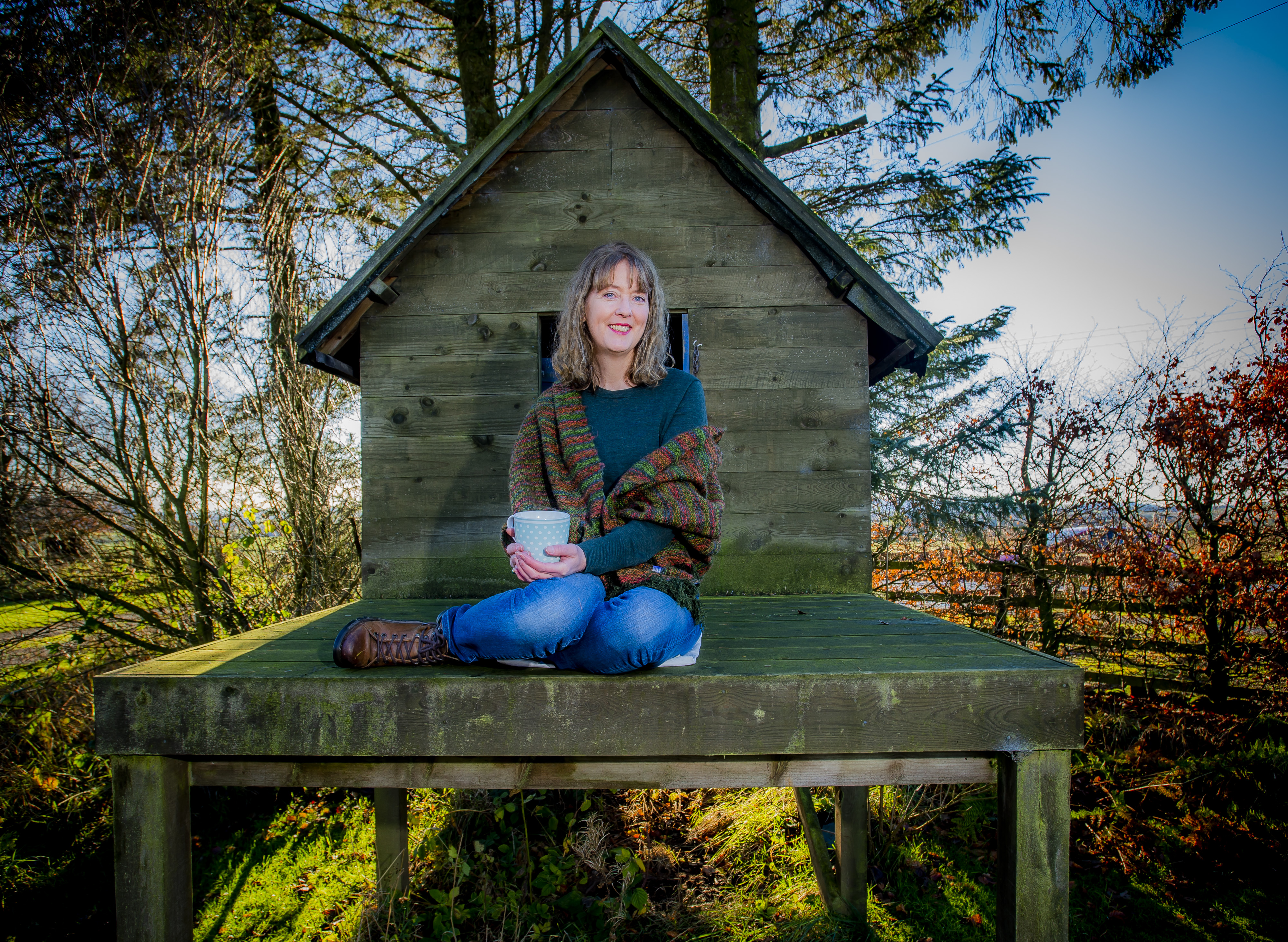 Coming out from behind the lens... wedding photgrapher Tracy Gow, who won a writing competition, which has led to a whole new career as a romance novellist (Alan Peebles)