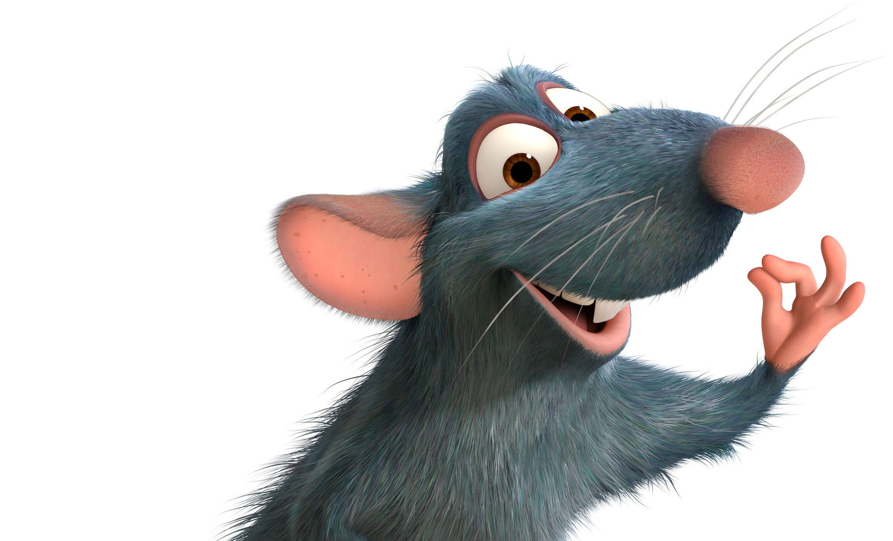Remy the rat from Disney's Ratatouille is an unlikely Brexiteer but has whiskers in common with hardliners, says Donald MacLeod.