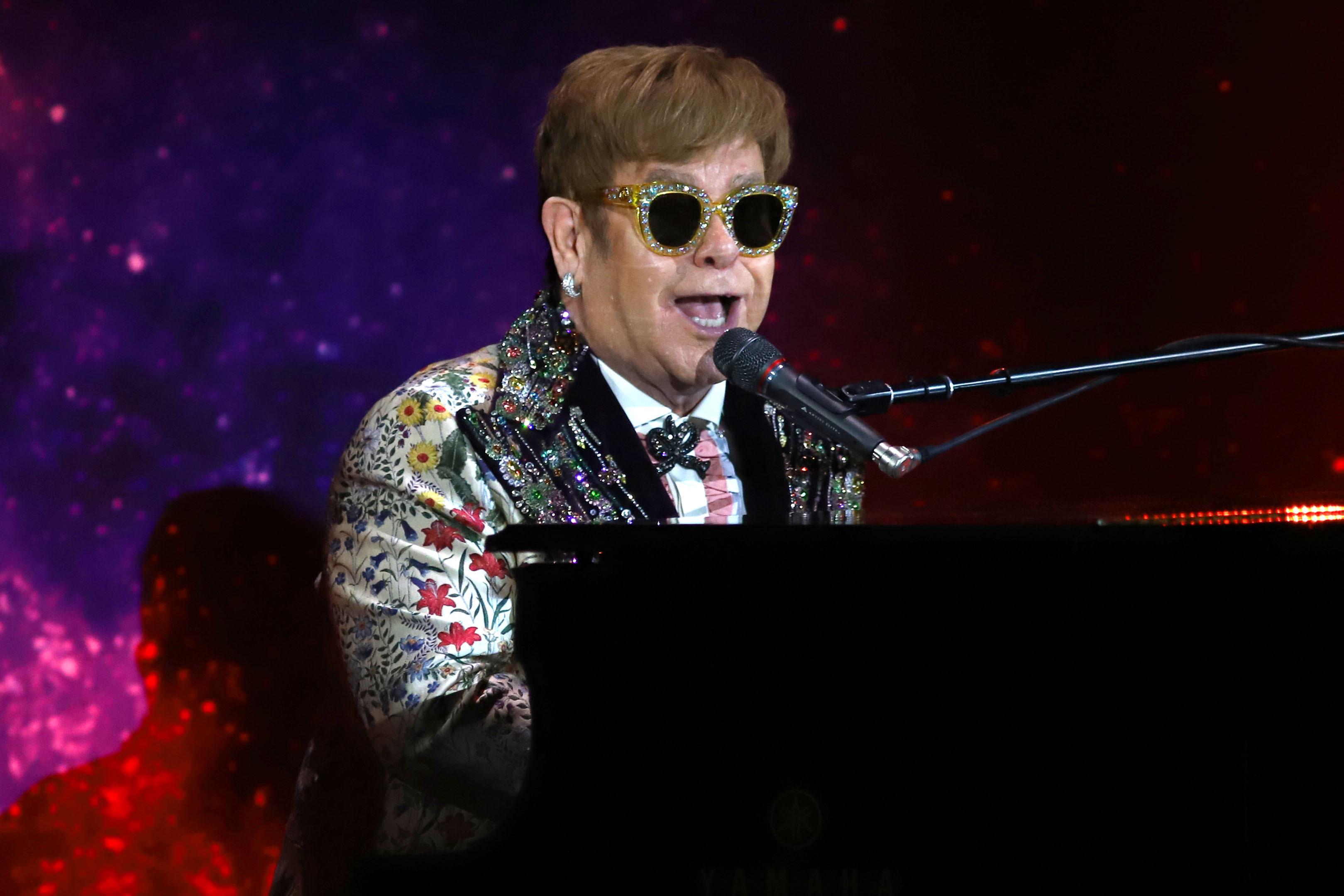 Elton John (Greg Allen/PA Wire)