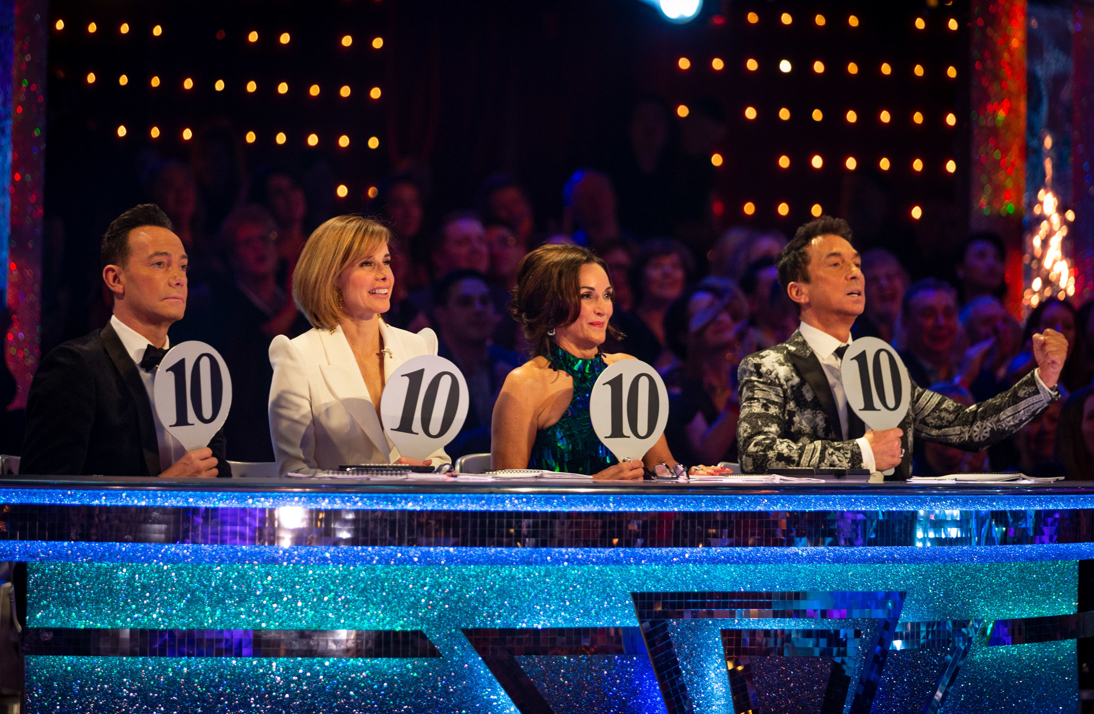 The judges (Guy Levy/BBC/PA Wire)