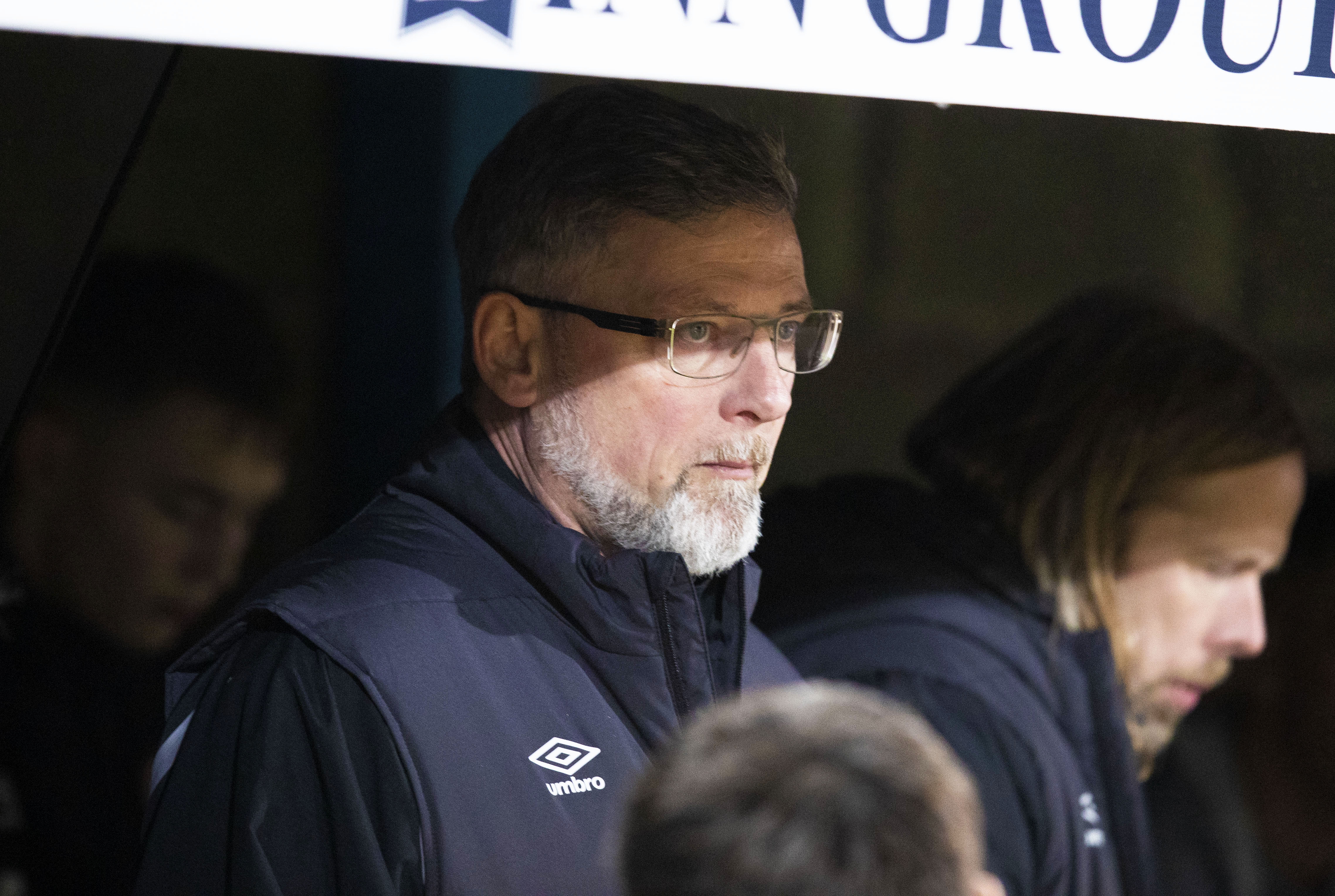 Hearts manager Craig Levein (SNS Group / Kenny Smith)