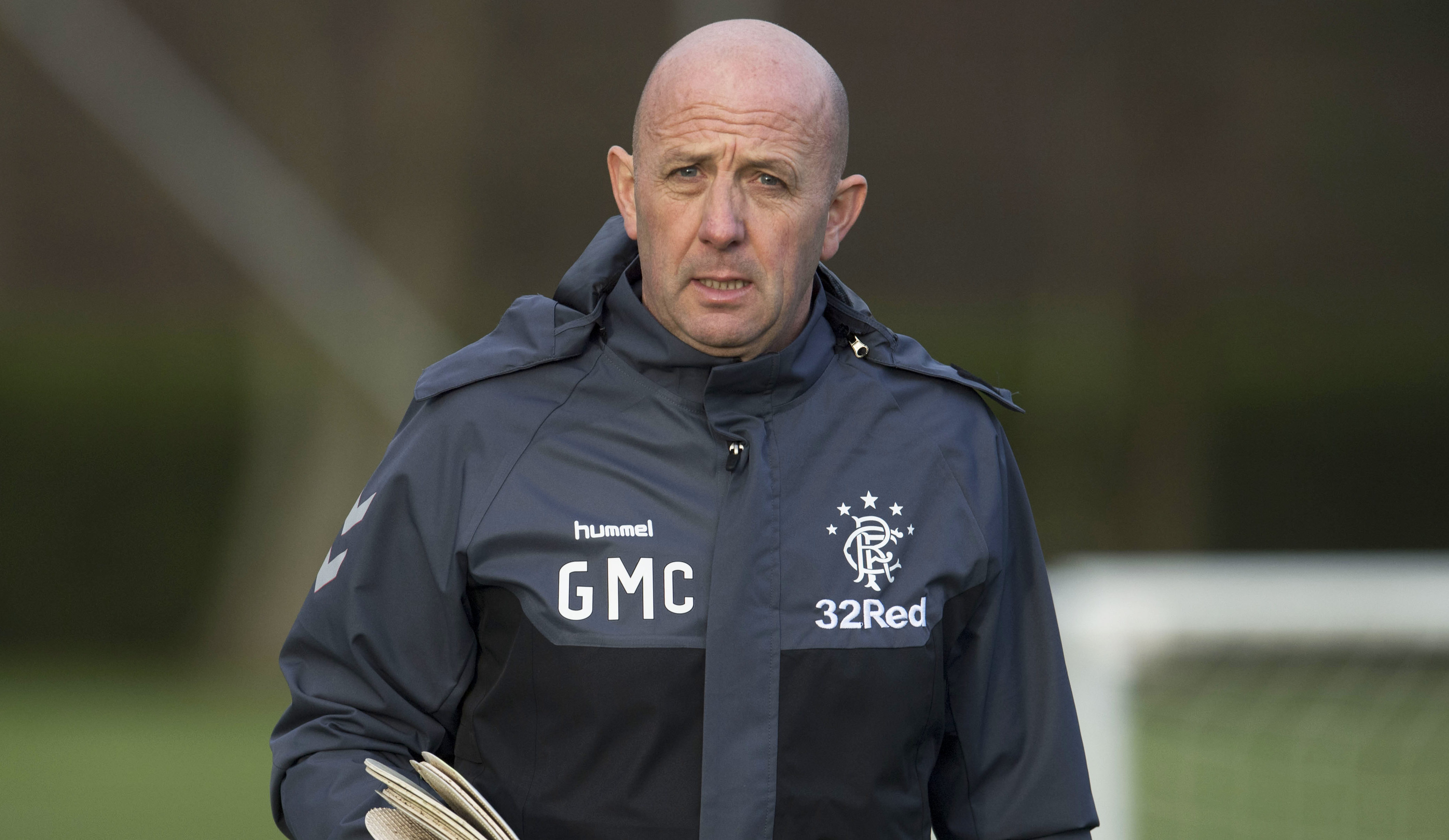 Rangers assistant manager Gary McAllister (SNS Group)