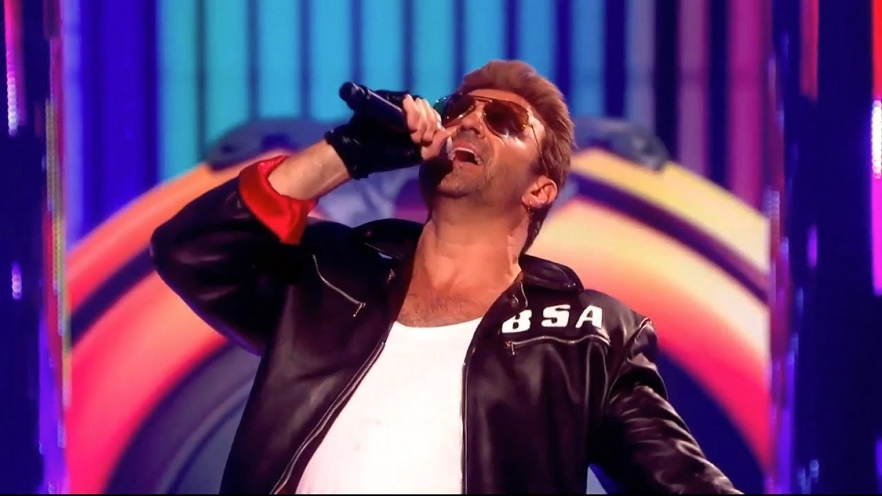 Rob Lamberti as George Michael.