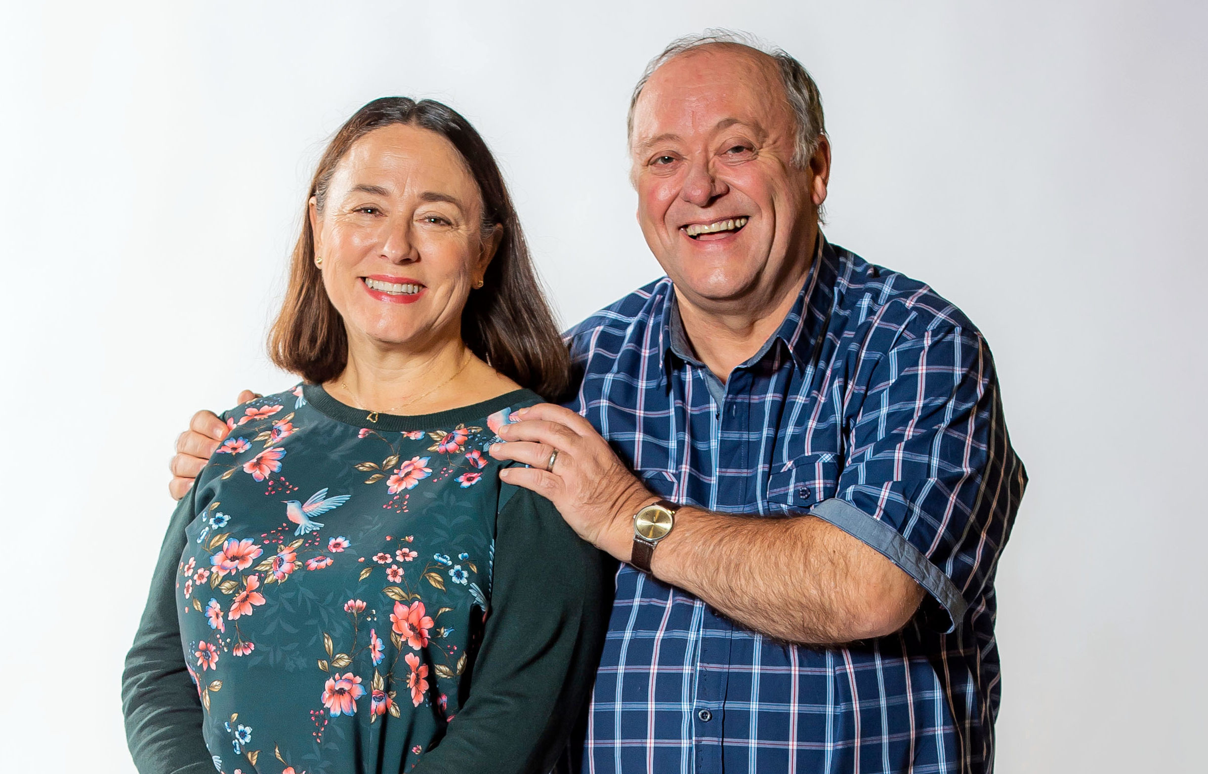 Alex Norton and Arabella Weir in Two Doors Down (Alan Peebles / BBC)