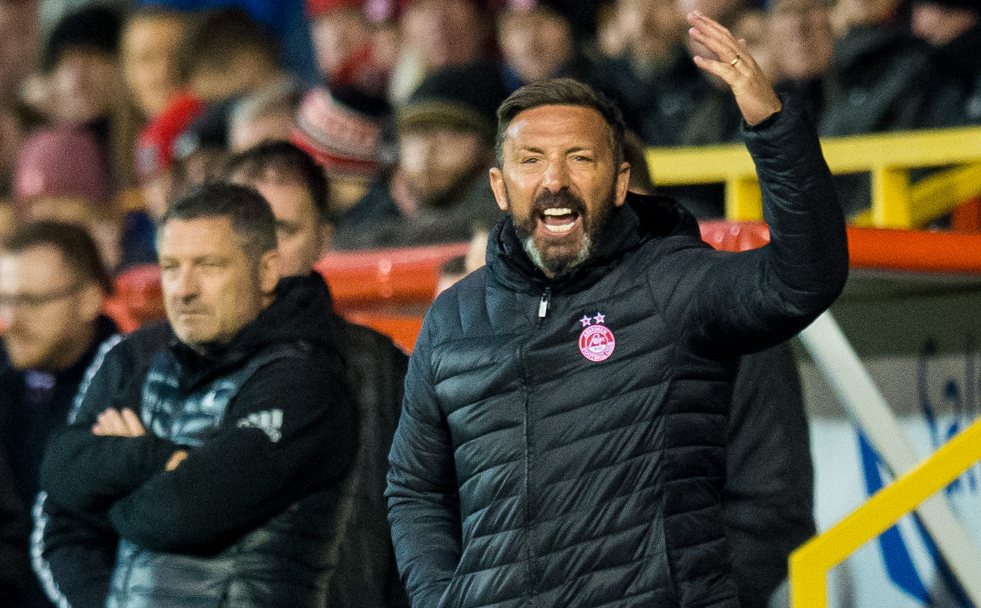 Aberdeen manager Derek McInnes (SNS Group)