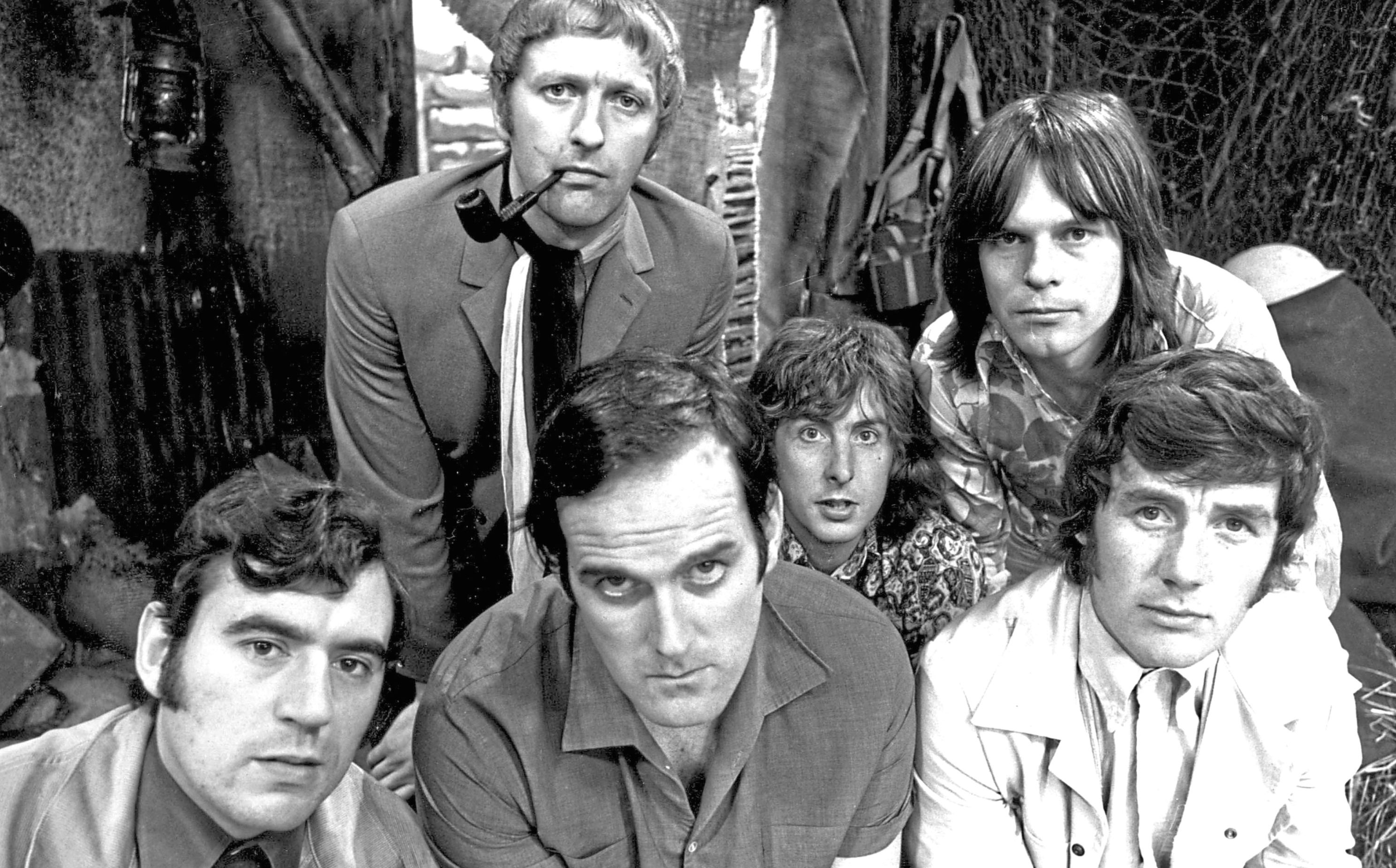 The Pythons, Terry Jones, Graham Chapman, John Cleese, Eric Idle, Terry Gilliam and Michael Palin (Allstar/BBC)