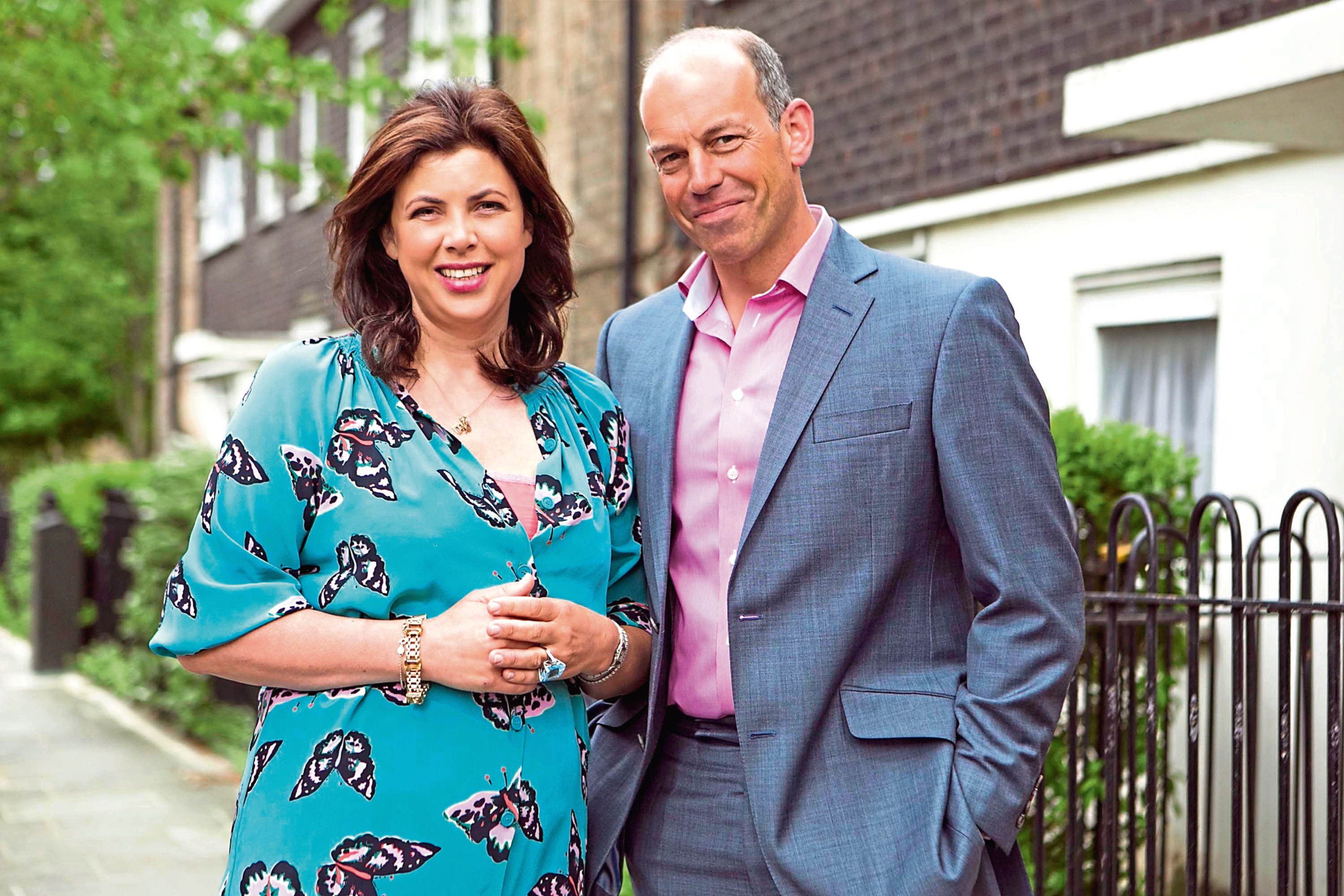 Home expert Phil Spencer with TV sidekick Kirstie Allsopp