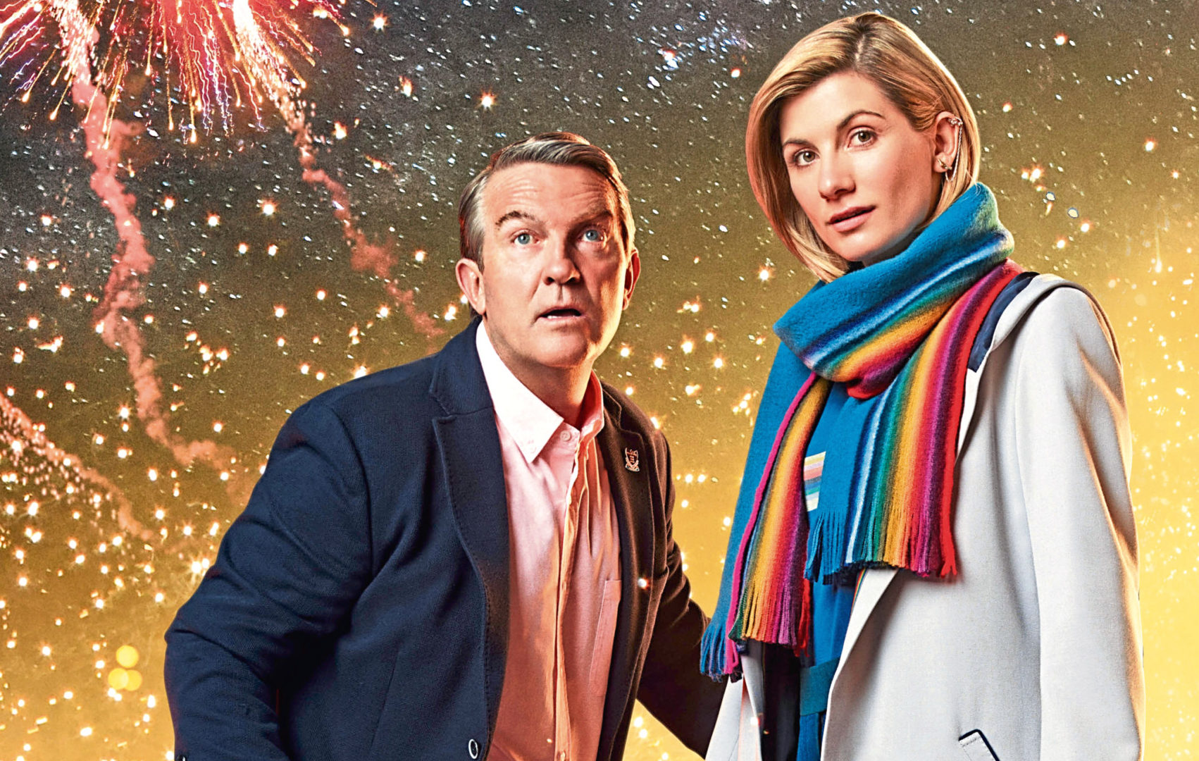 Bradley Walsh and Jodie Whittaker in Doctor Who (BBC / BBC Studios / Henrik Knudsen)