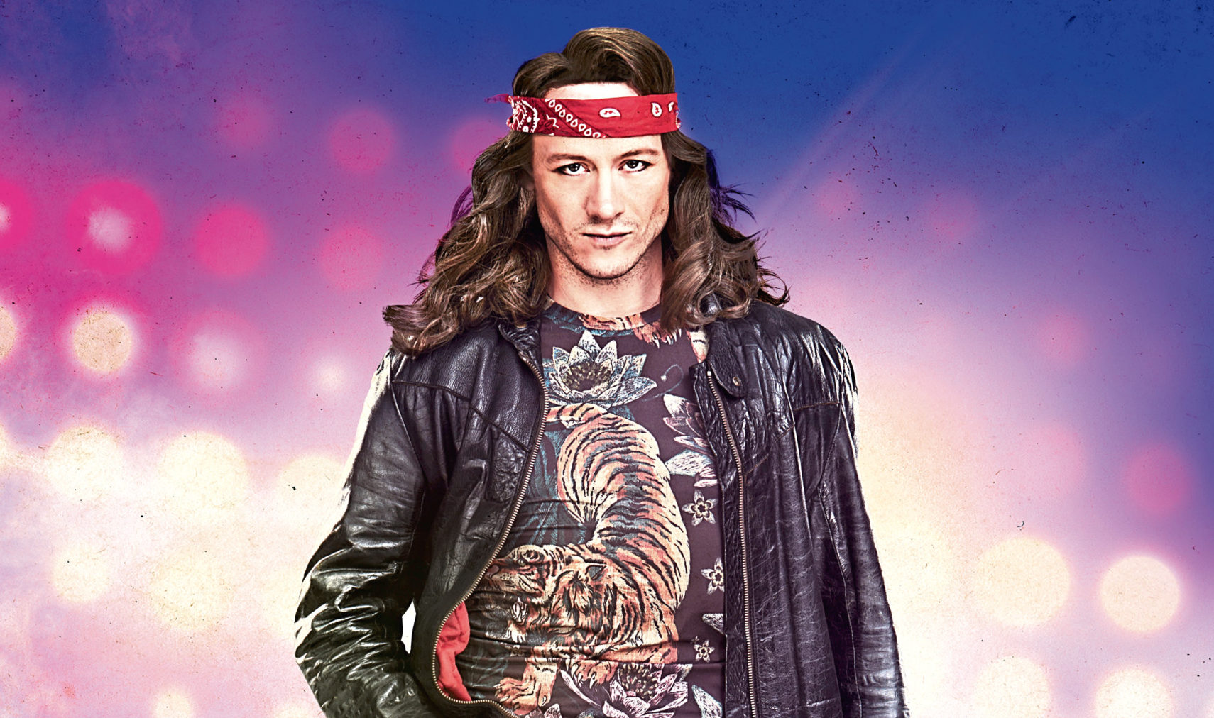 Kevin Clifton in Rock of Ages