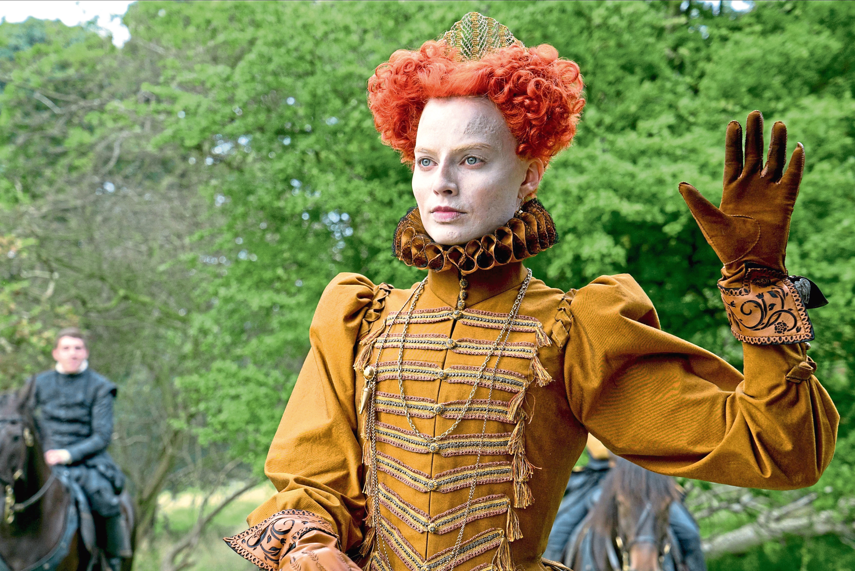 Margot Robbie as  Queen Elizabeth I (Allstar/FOCUS FEATURES)
