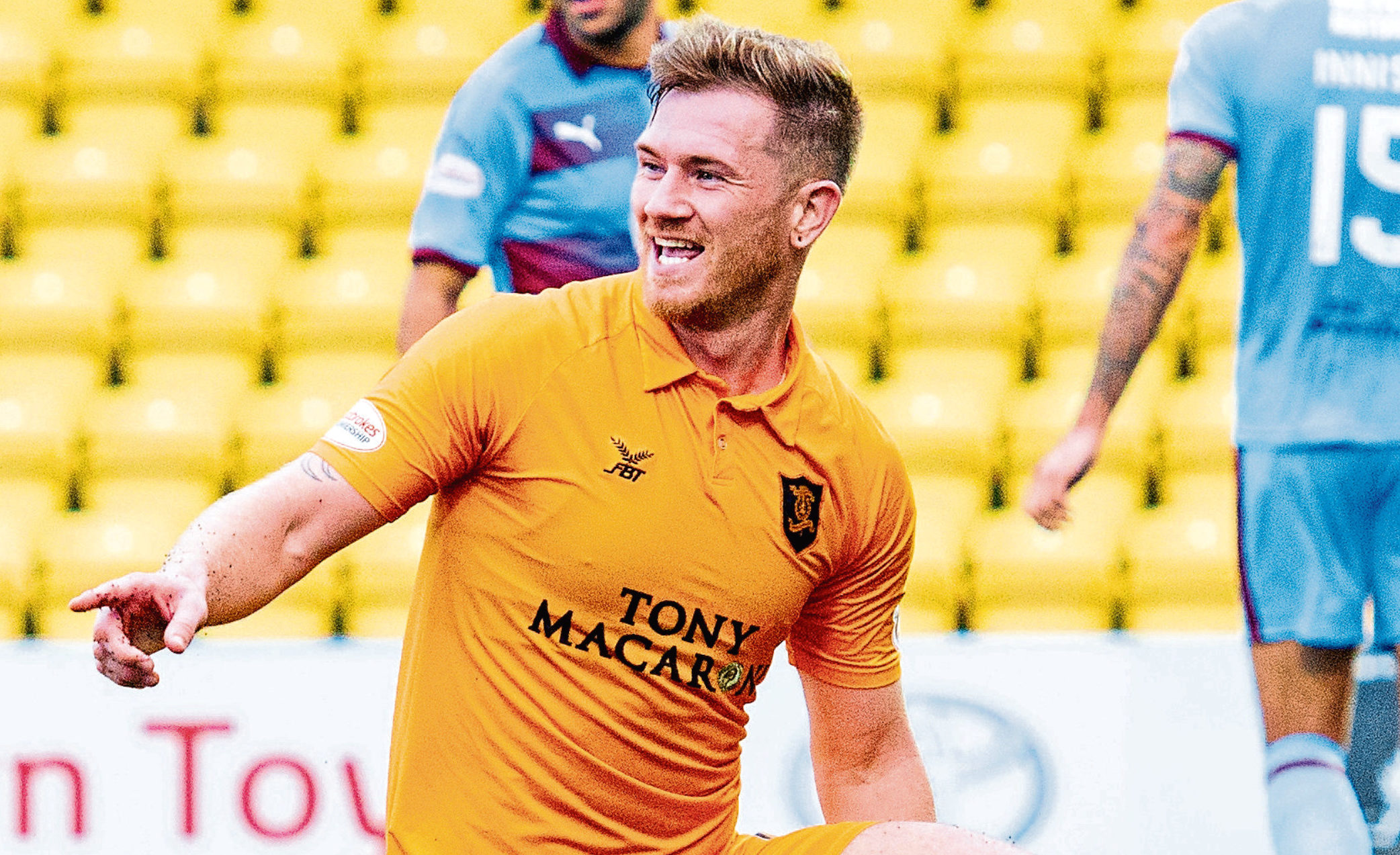 Livingston's Alan Lithgow (SNS Group)