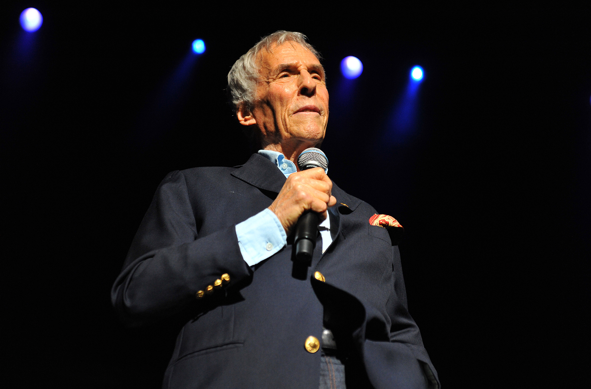 Burt Bacharach (C Brandon/Redferns via Getty Images)