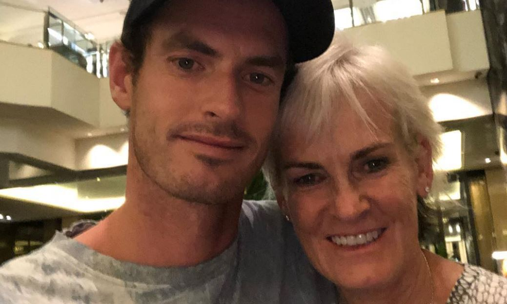 Andy and his mum Judy (Andy Murray / Instagram)