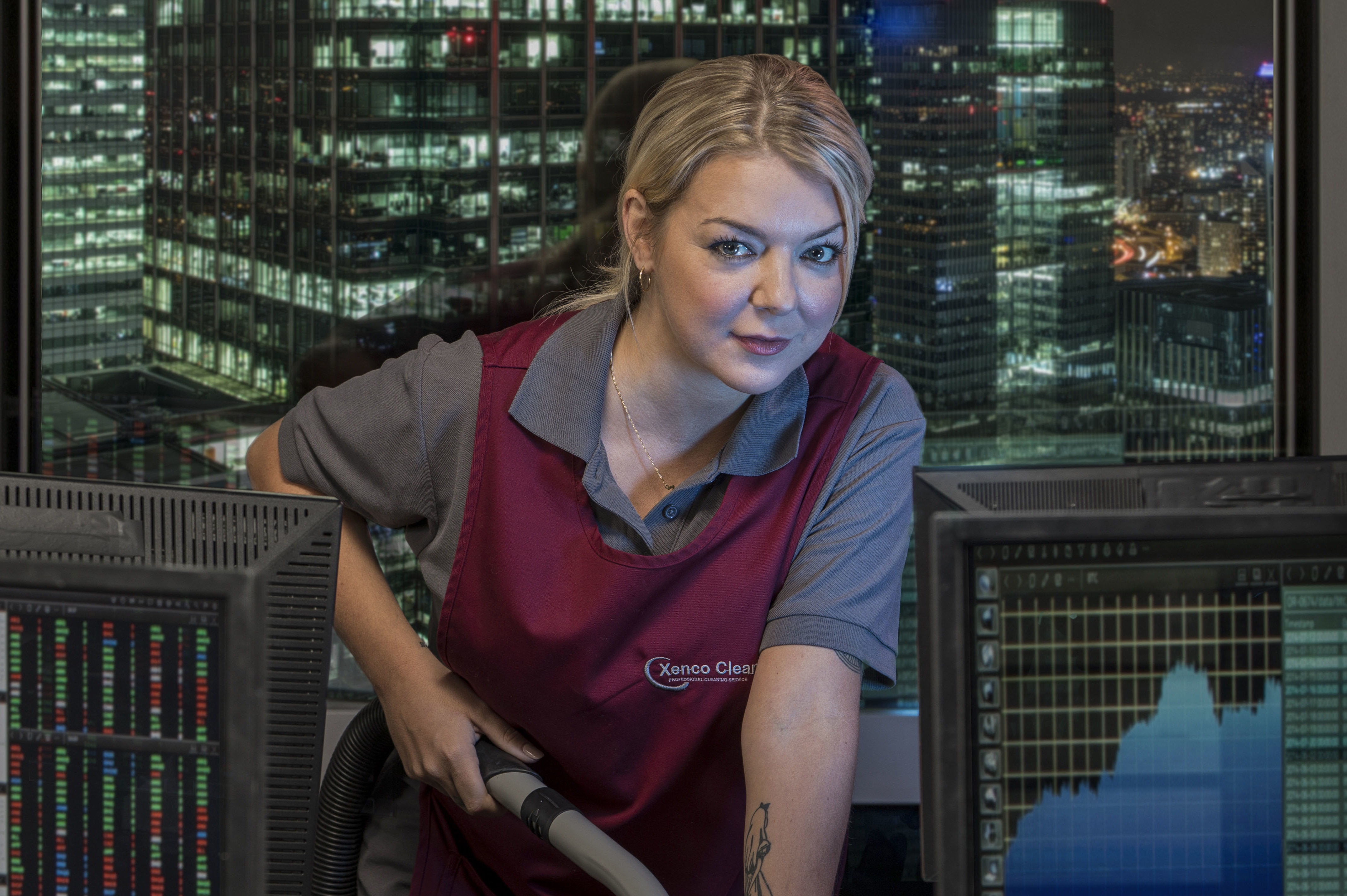 Sheridan Smith in Cleaning Up (Sister Pictures / ITV)