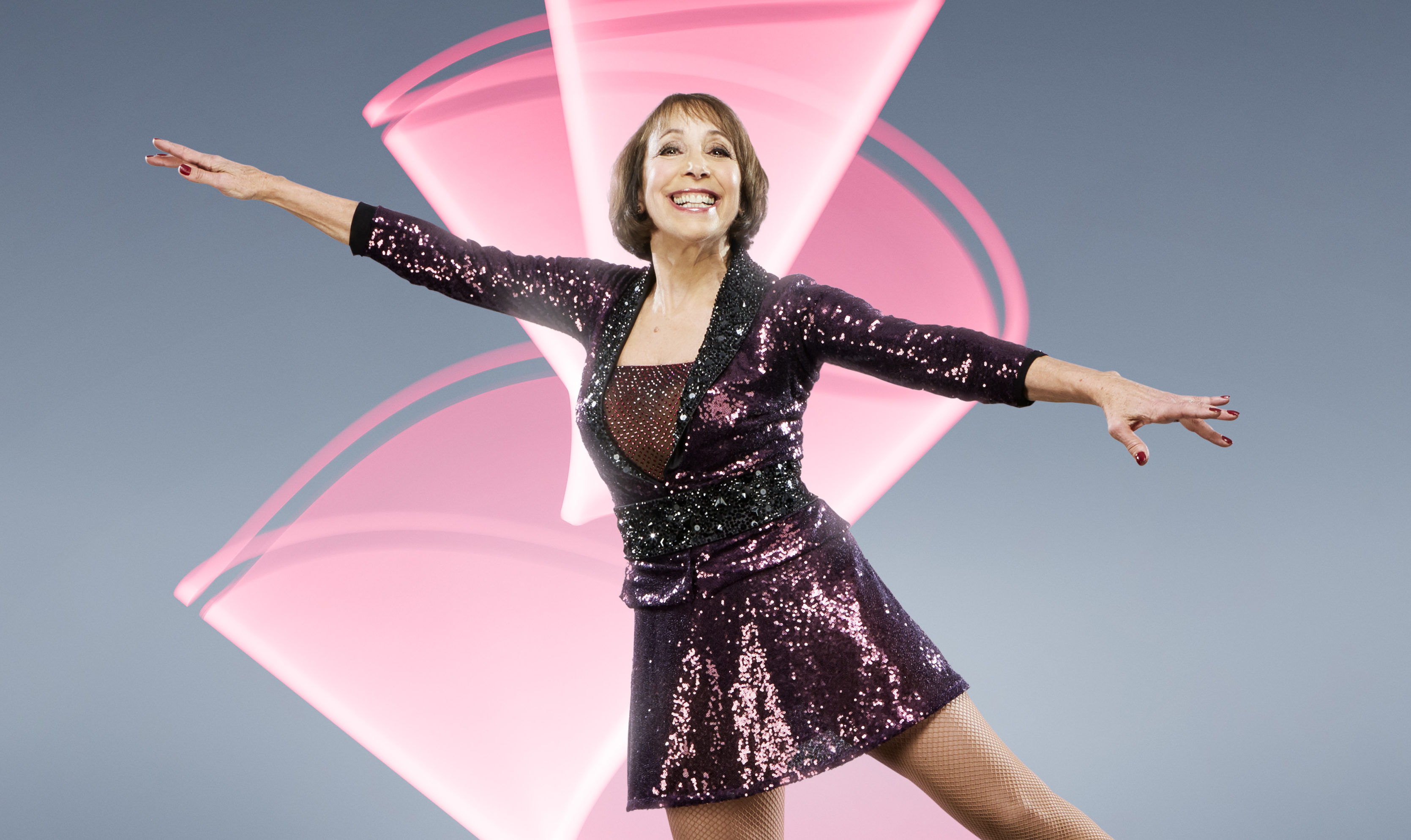 Didi Conn stars in this year's Dancing on Ice (ITV)